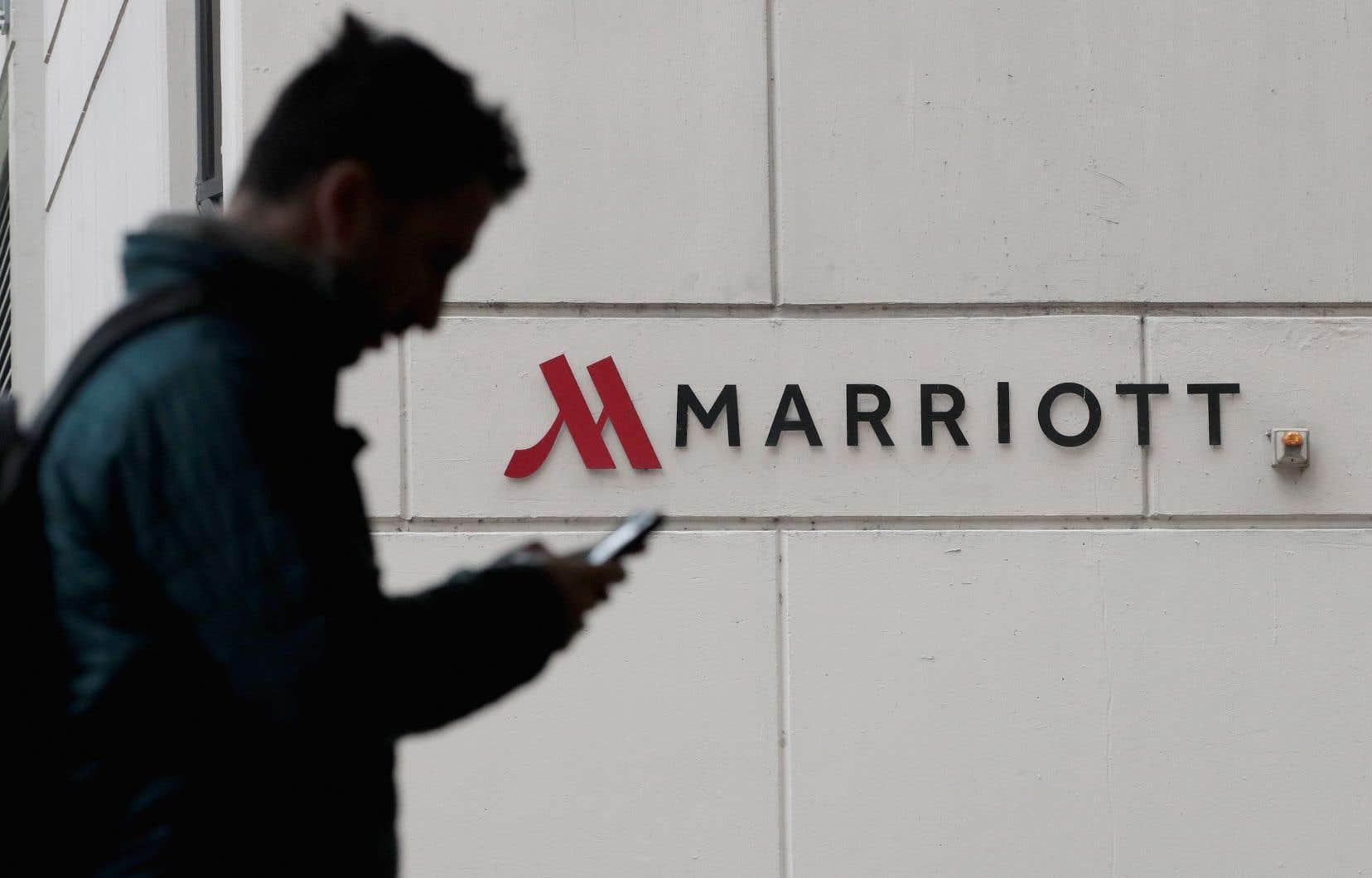 En novembre, le groupe Marriott International avait révélé que le système de réservations de Starwood avait fait l'objet d'une intrusion depuis 2014, un piratage dont jusqu'à 383millions de personnes pourraient avoir été victimes.