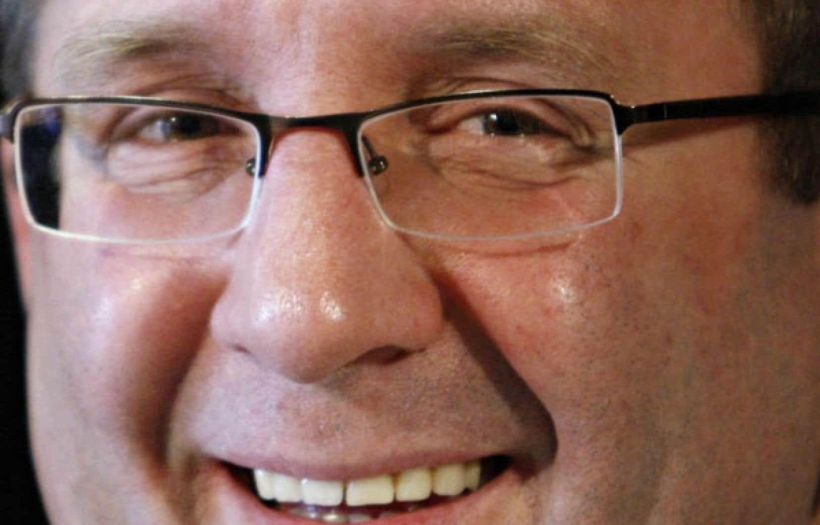 Le maire de Qu&eacute;bec, R&eacute;gis Labeaume, se r&eacute;jouit de la d&eacute;cision du gouvernement du Qu&eacute;bec d&rsquo;investir dans l&rsquo;aventure du nouvel amphith&eacute;&acirc;tre.<br />