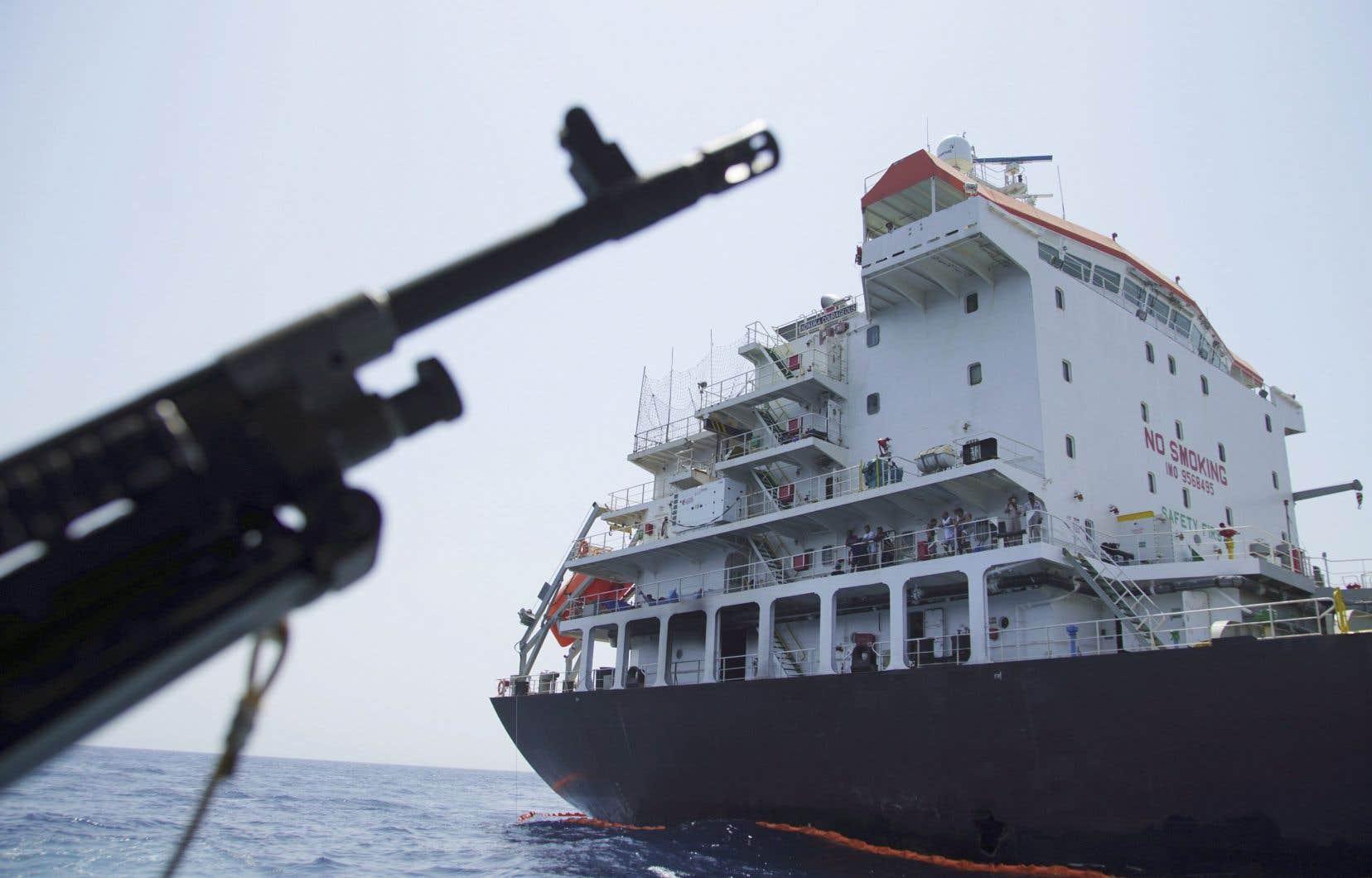 Les pétroliers seraient escortés par les nations sous le drapeau desquelles ils naviguent, comme l'a souhaité en juin le président Donald Trump.