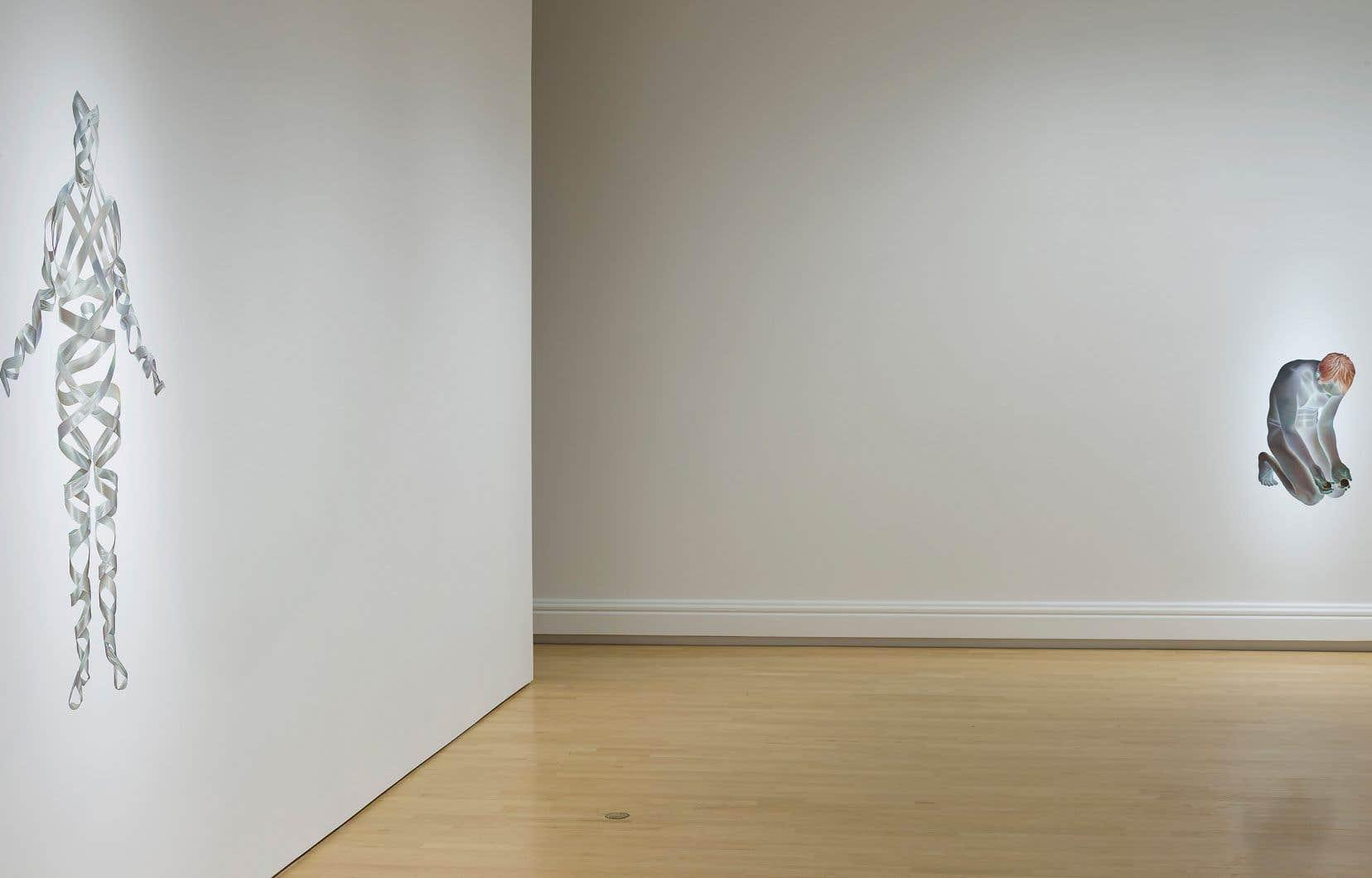 Vue de l'exposition «Raccord»