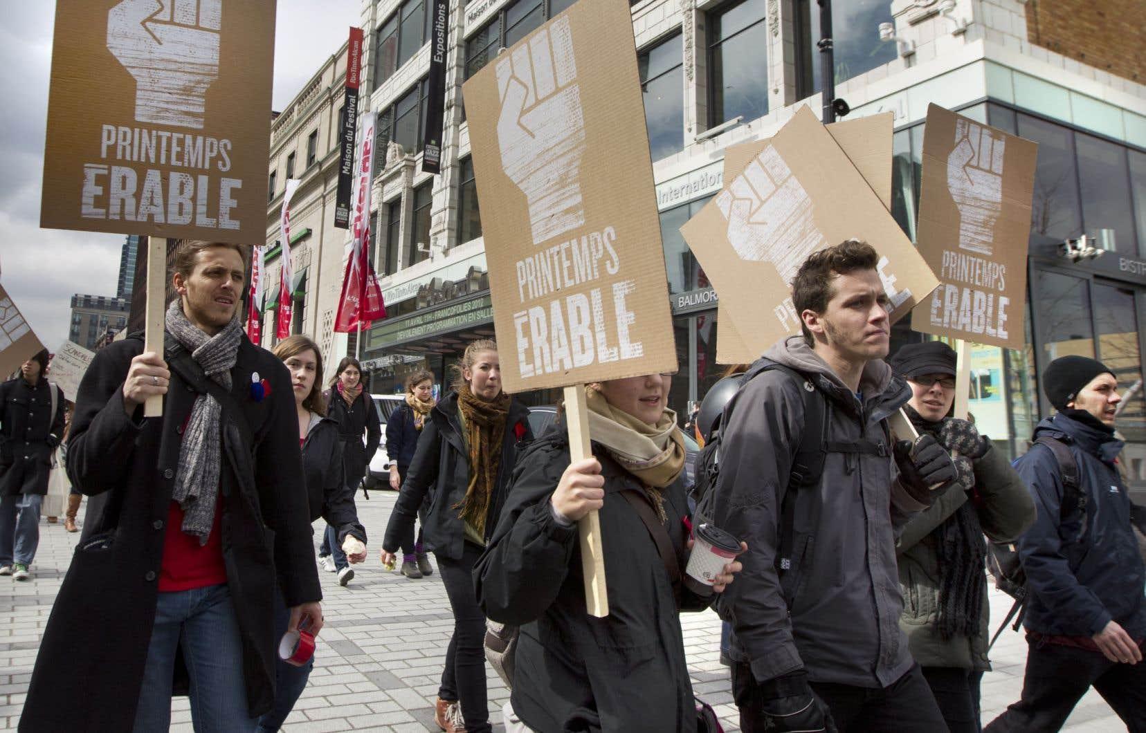 Le Printemps érable de 2012 compte plus que Québec solidaire estime le libertaire québécois Marcos Ancelovici.