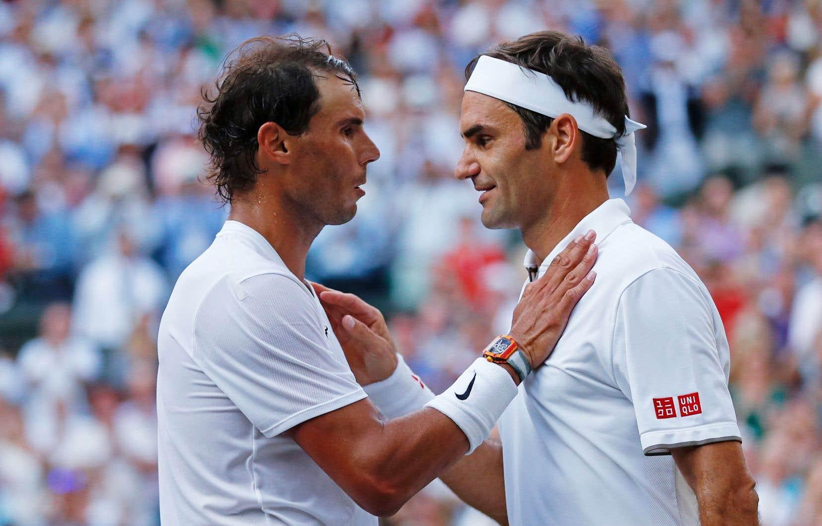 Nadal et Federer en étaient à leur 40e duel.