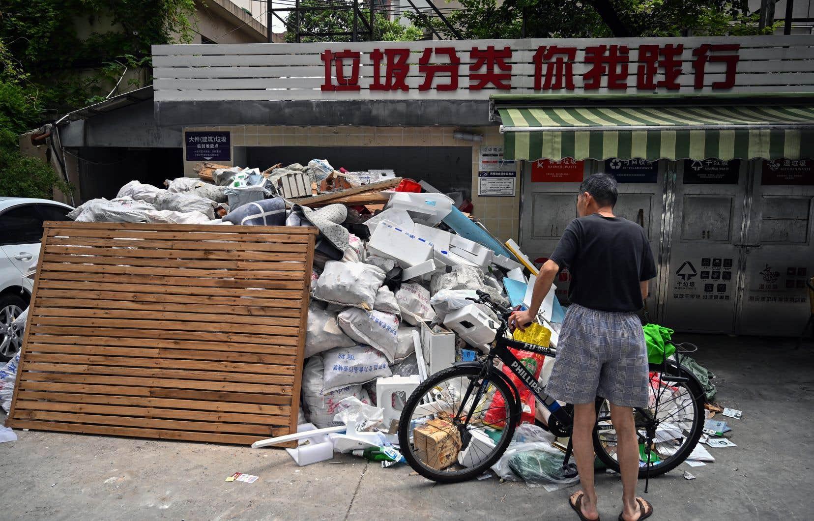 La Chine ne produisait que 30millions de tonnes de déchets en 1980. Ce chiffre a grimpé à 210millions en 2017.