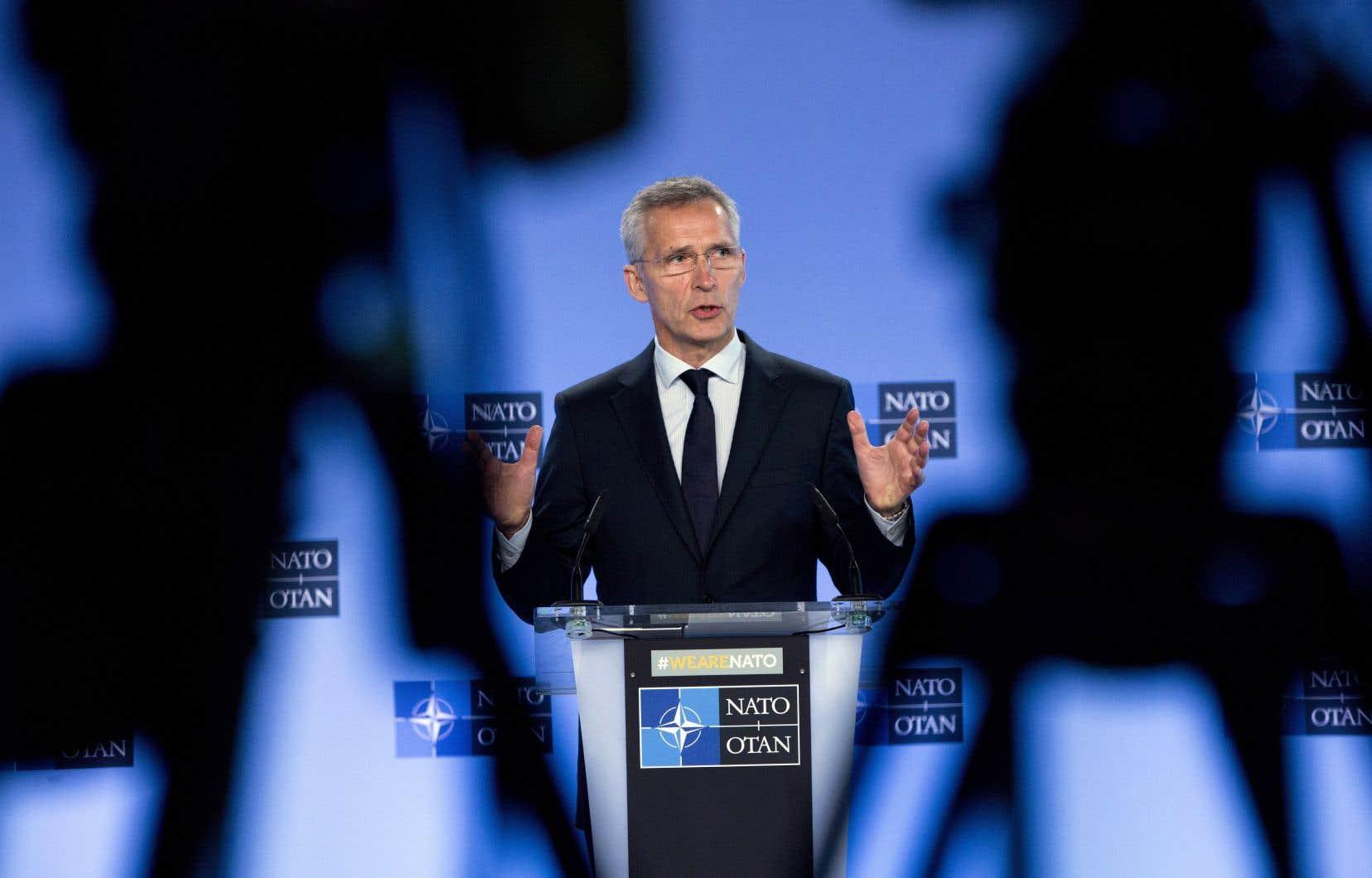 Le secrétaire général de l'OTAN,Jens Stoltenberg