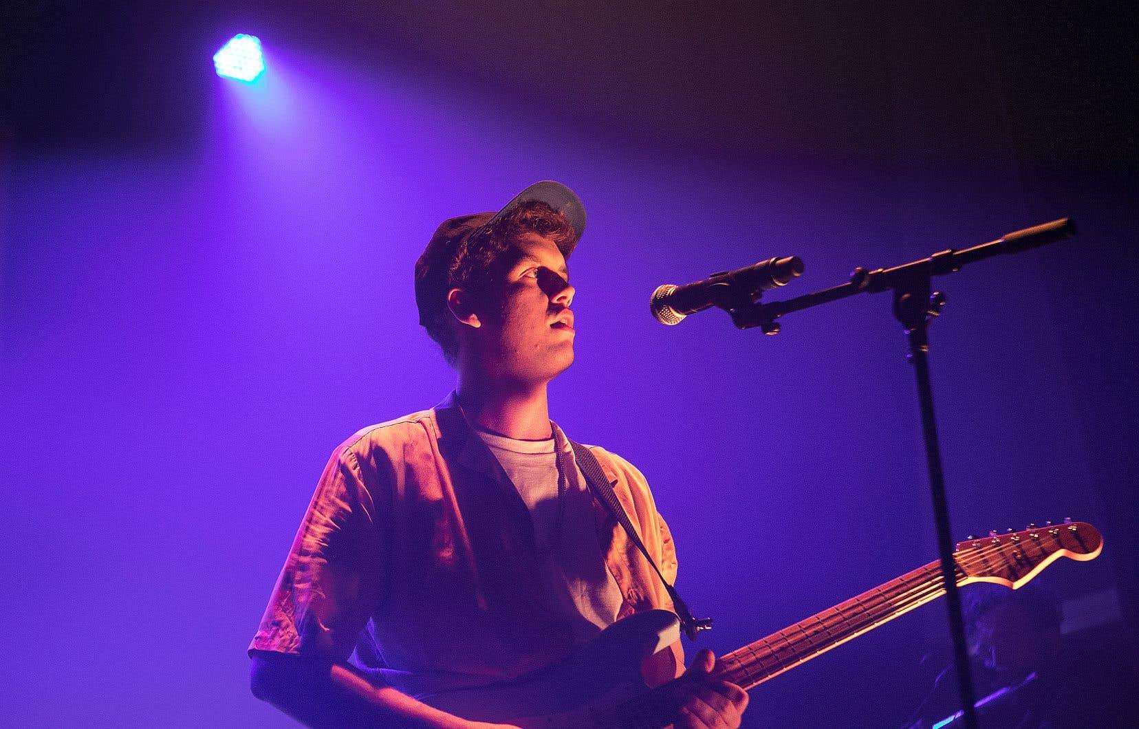 Les Louanges, de son vrai nom Vincent Roberge, est le seul représentant francophone dans la liste des finalistes.