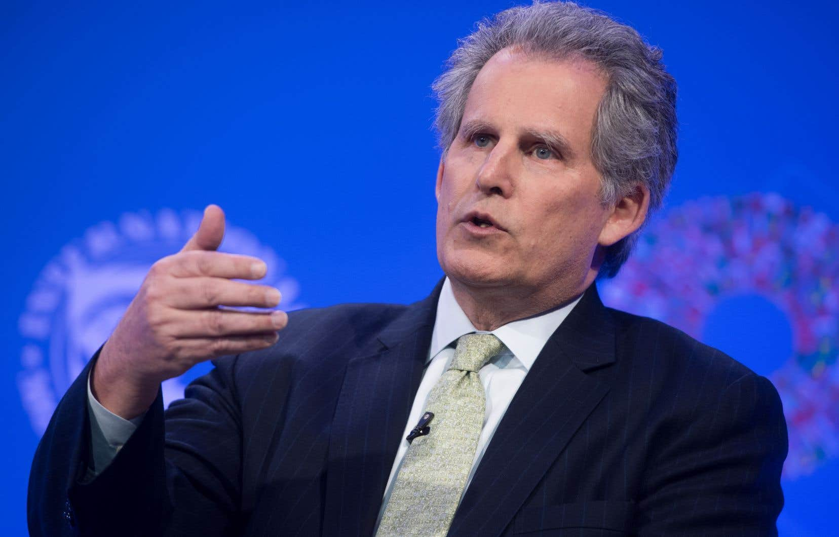 Le directeur général par intérim du Fonds monétaire international, David Lipton