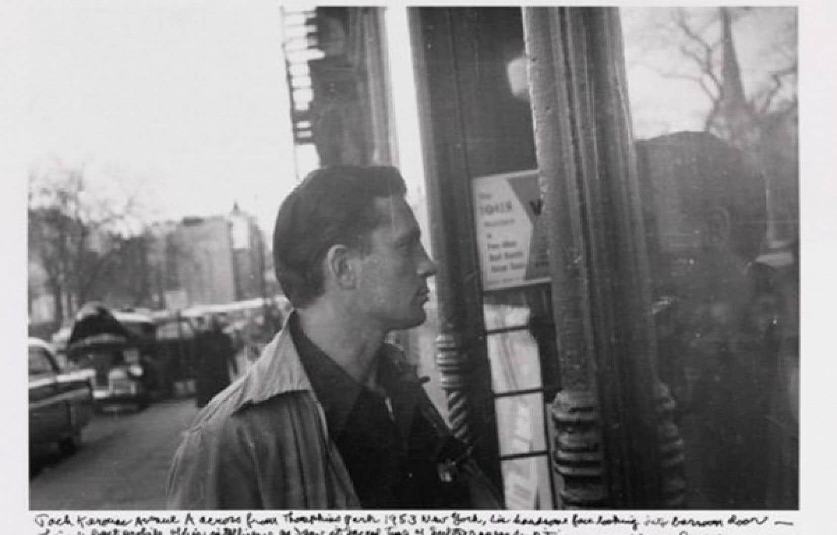 Jack Kerouac photographié en 1953 par Allen Ginsberg<br />