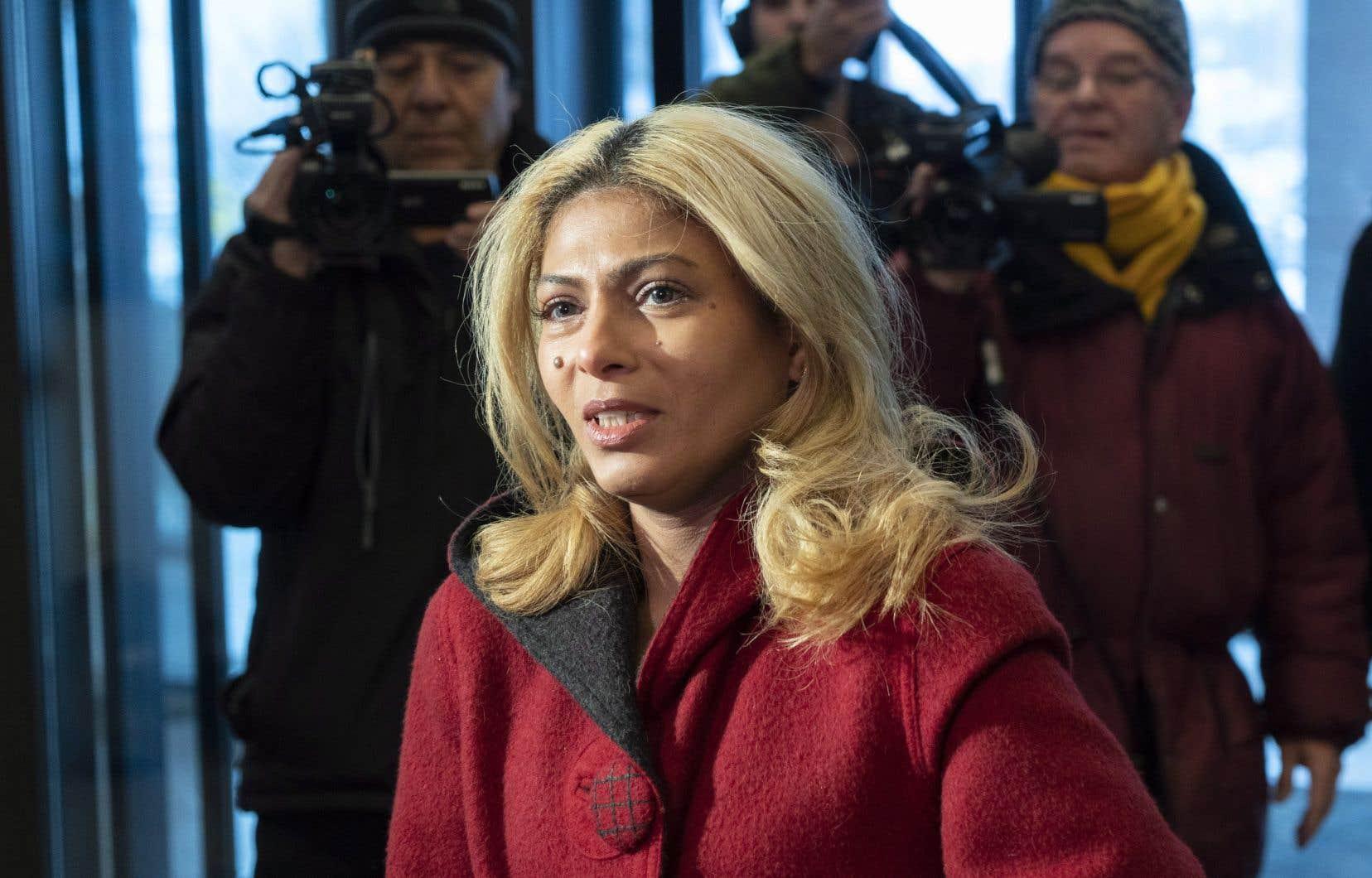 Ensaf Haidar a déclaré jeudi qu'elle aimerait rencontrer le président Donald Trump pour discuter des moyens par lesquels il pourrait favoriser la libération de son mari.