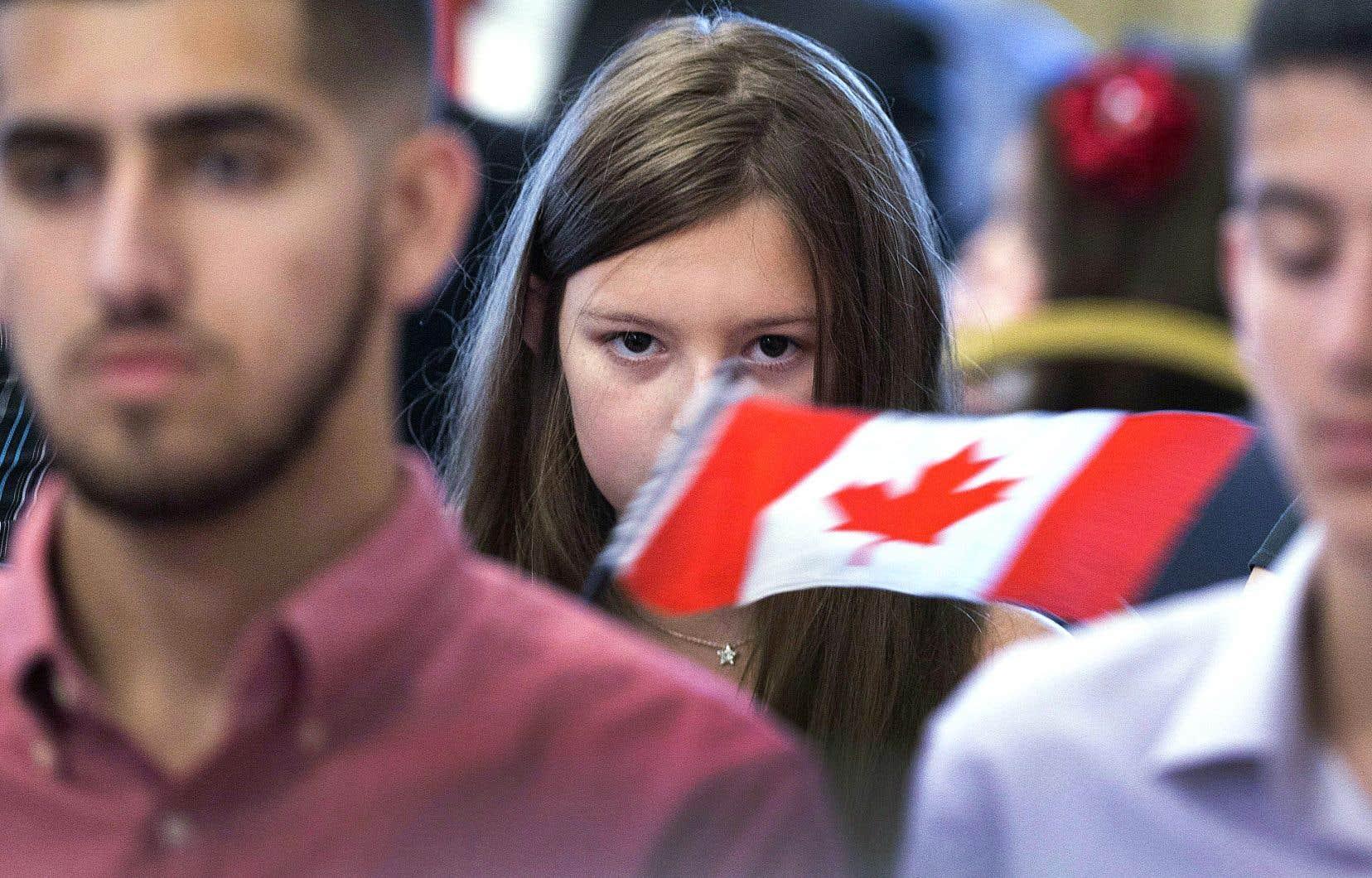 Selon les données obtenues, près du tiers des immigrants de nationalité américaine qui arrivent au Canada entrent dans la catégorie des immigrants dits «économiques».