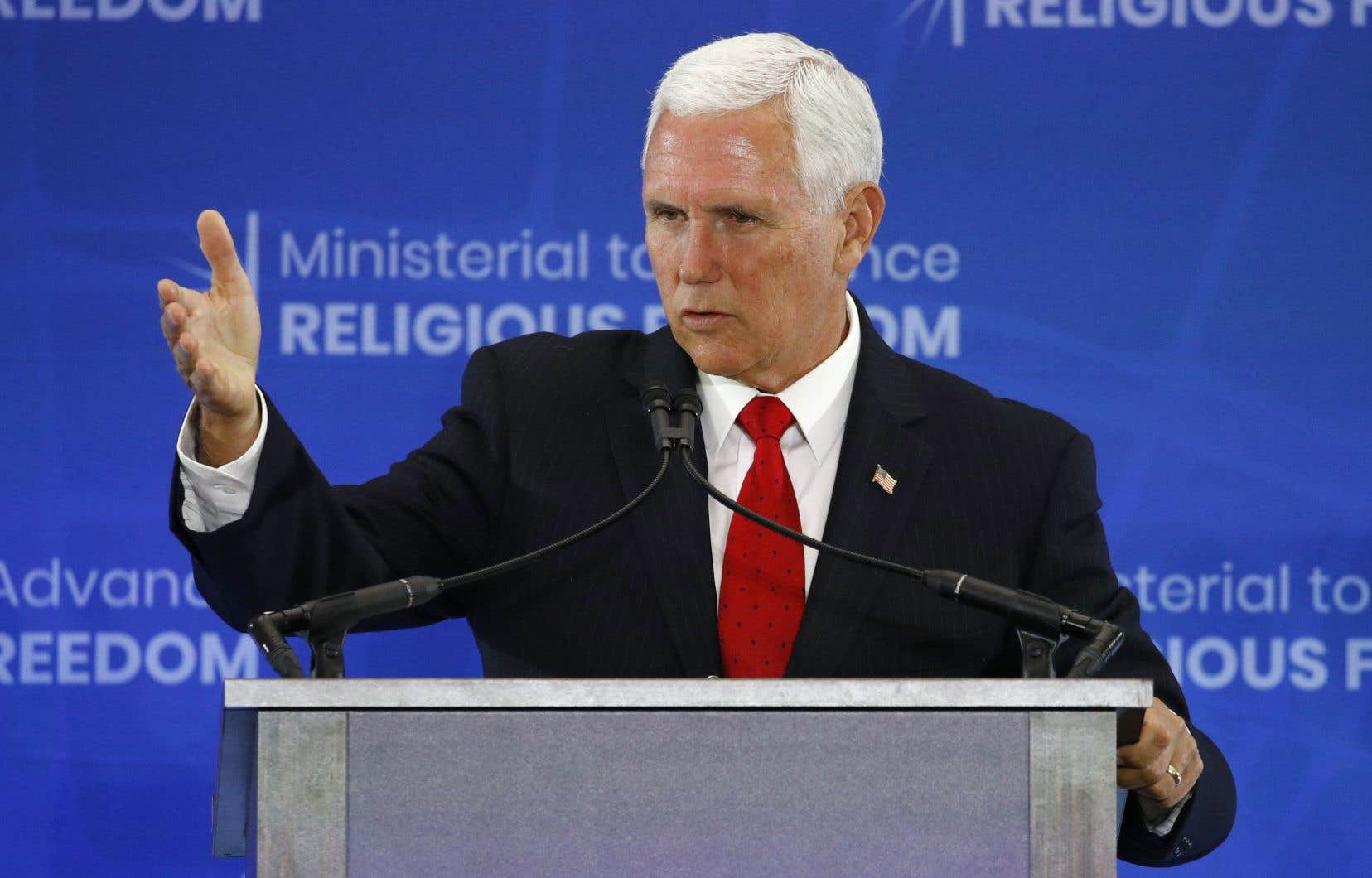 Le vice-président américain Mike Pence a profité d'un discours lors d'une conférence sur la liberté religieuse pour réclamer la libération de Raif Badawi et d'autres personnes emprisonnés sur la base de la religion.