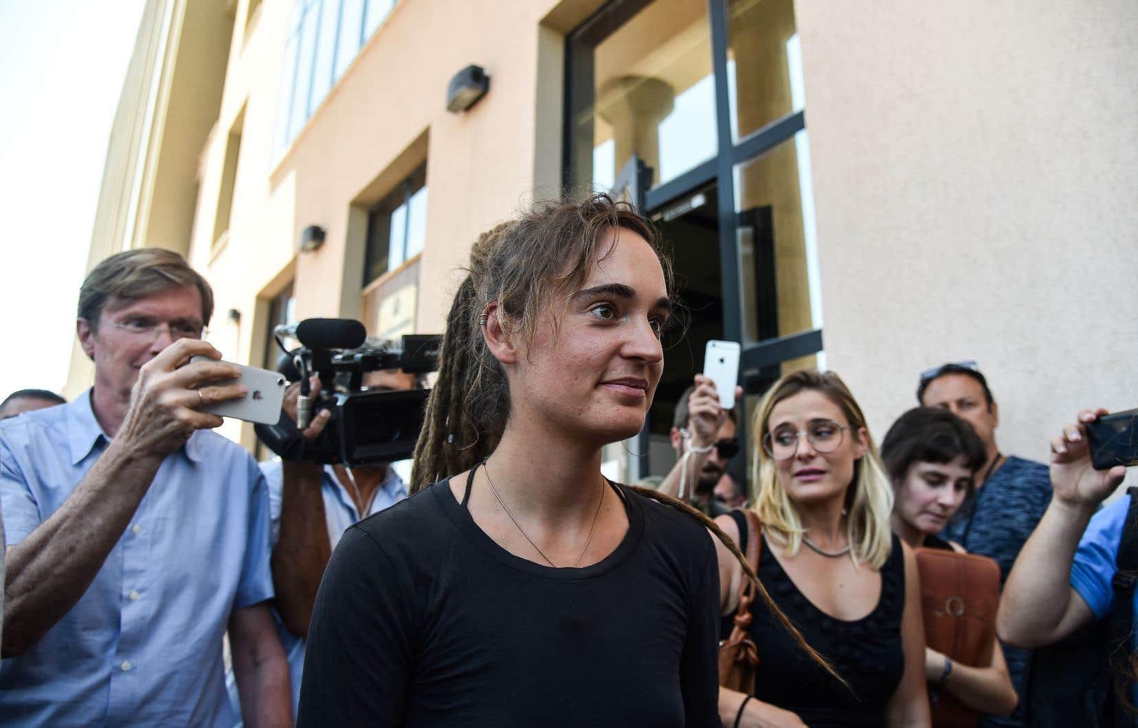 Carola Rackete, la capitaine du navire «Sea-Watch 3», a été arrêtée le 29 juin pour avoir pénétré dans les eaux territoriales italiennes malgré le veto du ministre italien de l'Intérieur.