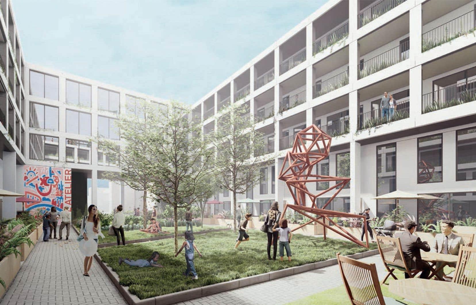 La notion de «logements abordables» évoquée par le promoteur ne rassure pas le Comité d'action de Parc-Extension (CAPE), qui milite depuis des années pour la construction de logements sociaux dans le quartier.