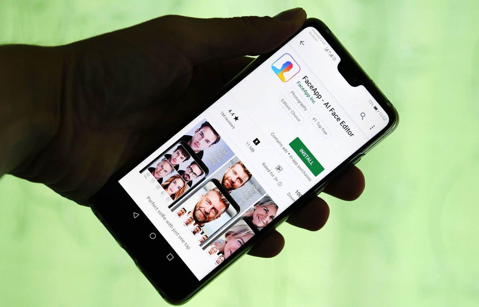 Développée en Russie par une petite équipe basée à Saint-Pétersbourg, l'application FaceApp est sortie en janvier 2017.