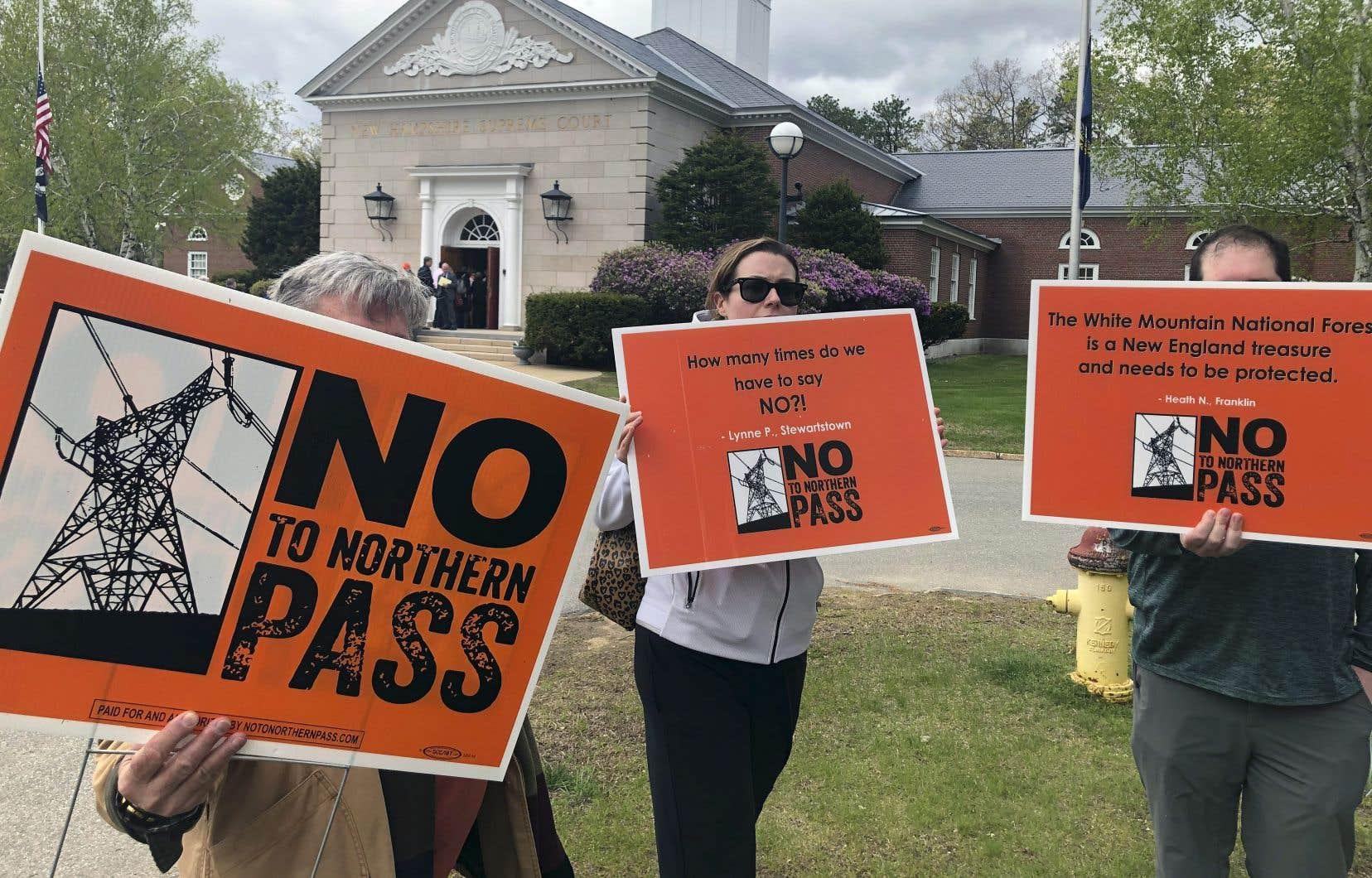 La Cour suprême du New Hampshire a confirmé que le projet Northern Pass nuirait à l'industrie du tourisme de la région et à la valeur des propriétés.