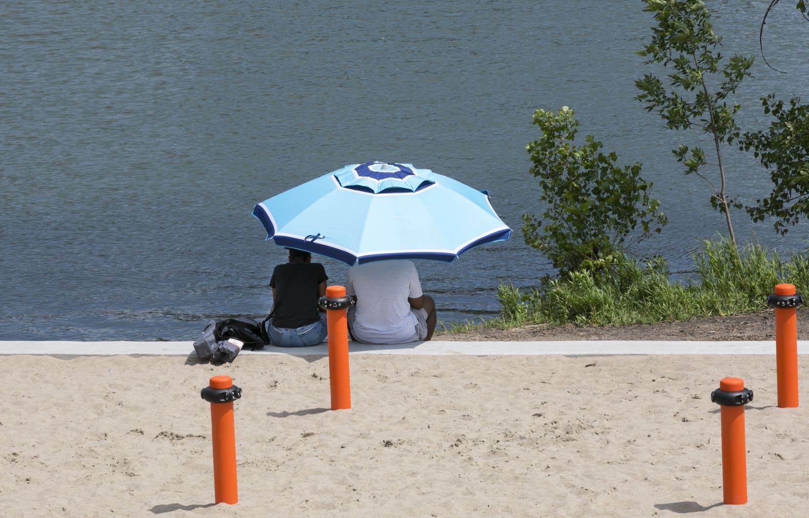 Cette vague de chaleur touche l'ouest, le sud et le centre du Québec