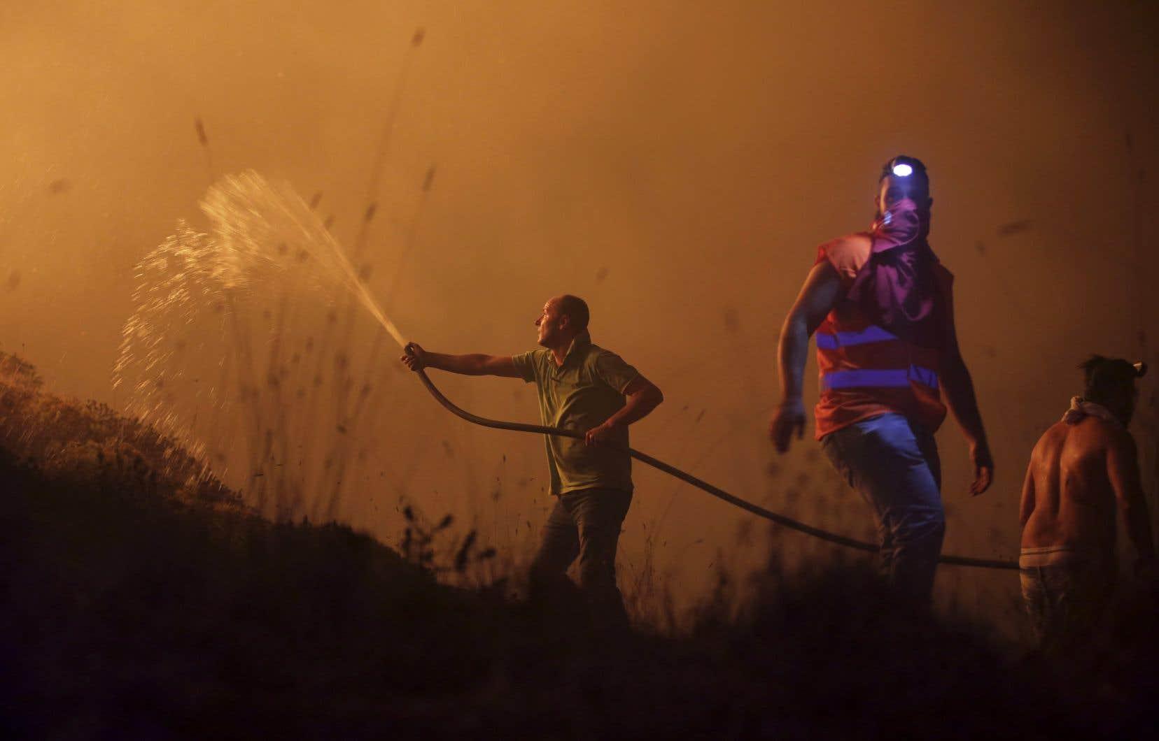 En 2017, une série d'incendies ravageurs avait fait 114 morts dans le centre du pays.