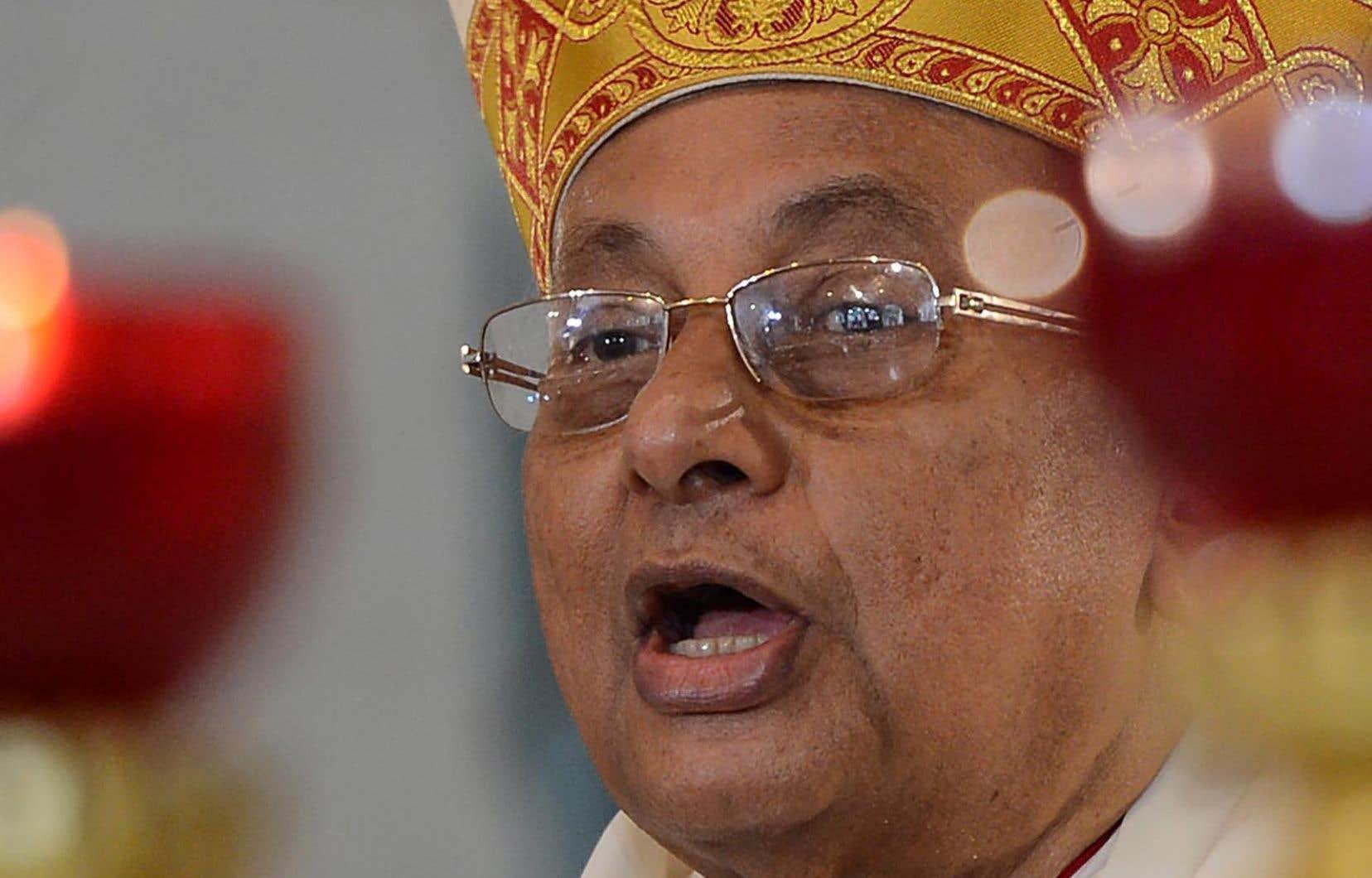 Le cardinal Malcolm Ranjith