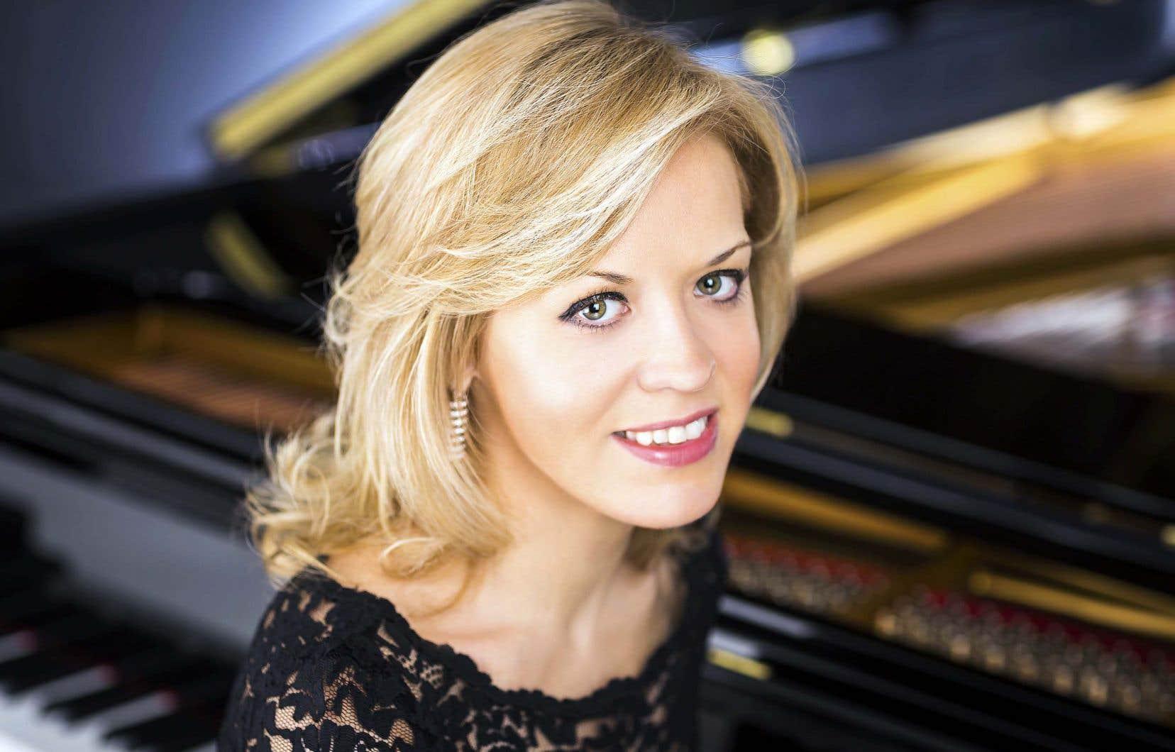 La pianiste russo-américaine Olga Kern