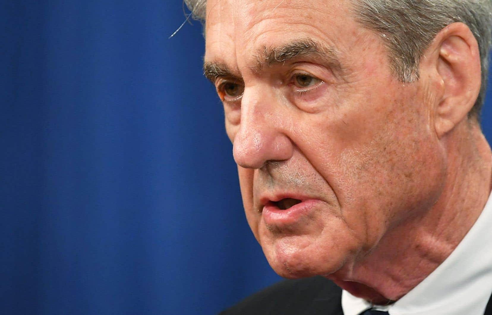 Le procureur spécial Robert Mueller a enquêté pendant 22 mois sur les liens entre Moscou et l'équipe de campagne de Donald Trump pendant la campagne présidentielle de 2016.
