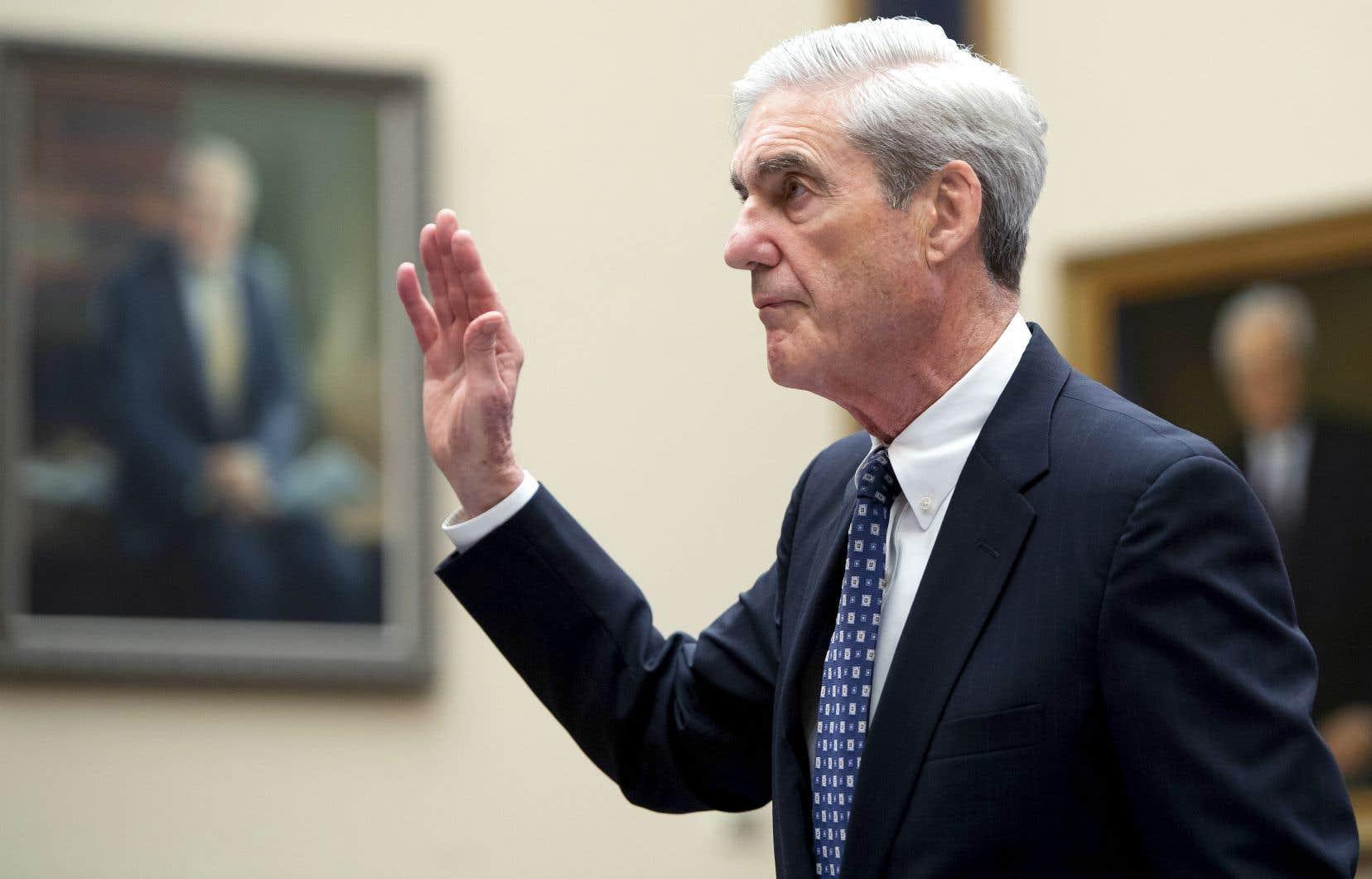 L'ingérence russe dans la dernière campagne n'était «pas un canular» a affirmé l'ex-directeur du FBI, Robert Mueller, devant le Congrès.