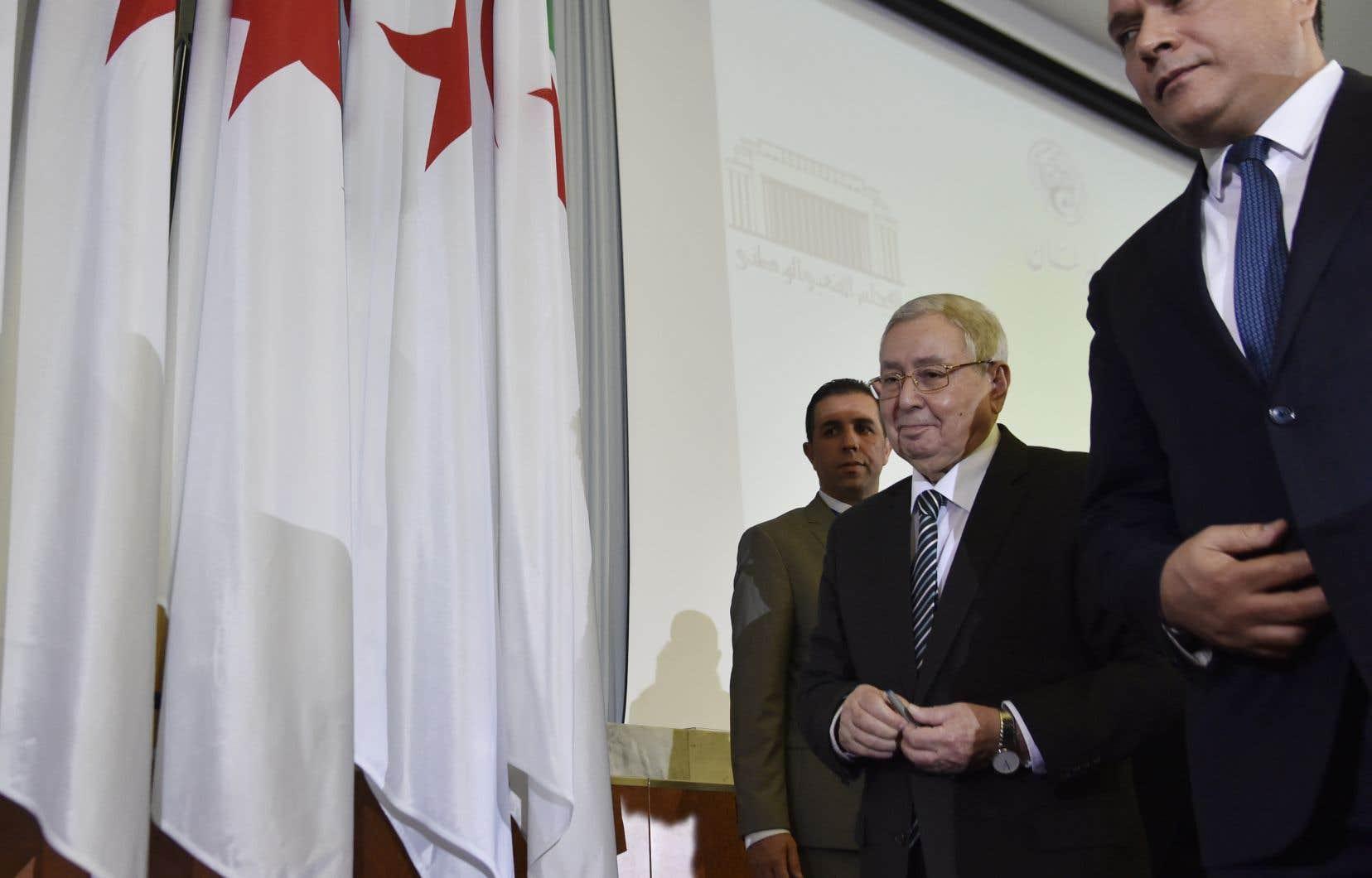 Abdelkader Bensalah a proposé début juillet un «dialogue» devant fixer les modalités de l'organisation rapide d'une présidentielle.