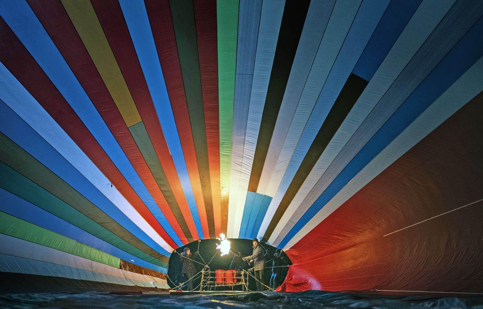 C'est en Bavière que rêvaient d'atterrir deux familles est-allemandes, ce qu'elles feront le 16septembre 1976 à bord d'une montgolfière… artisanale.