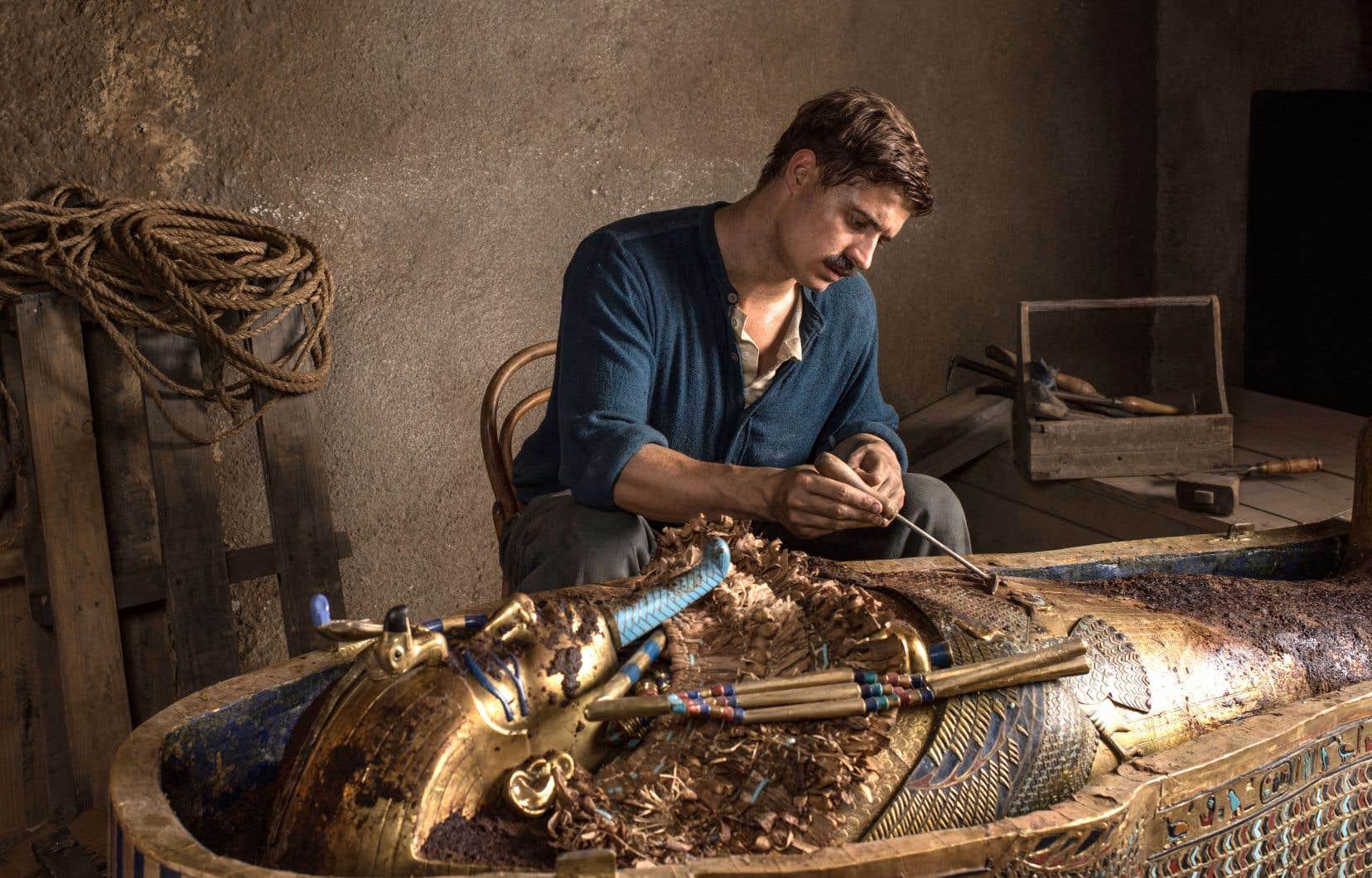 L'égyptologue Howard Carter