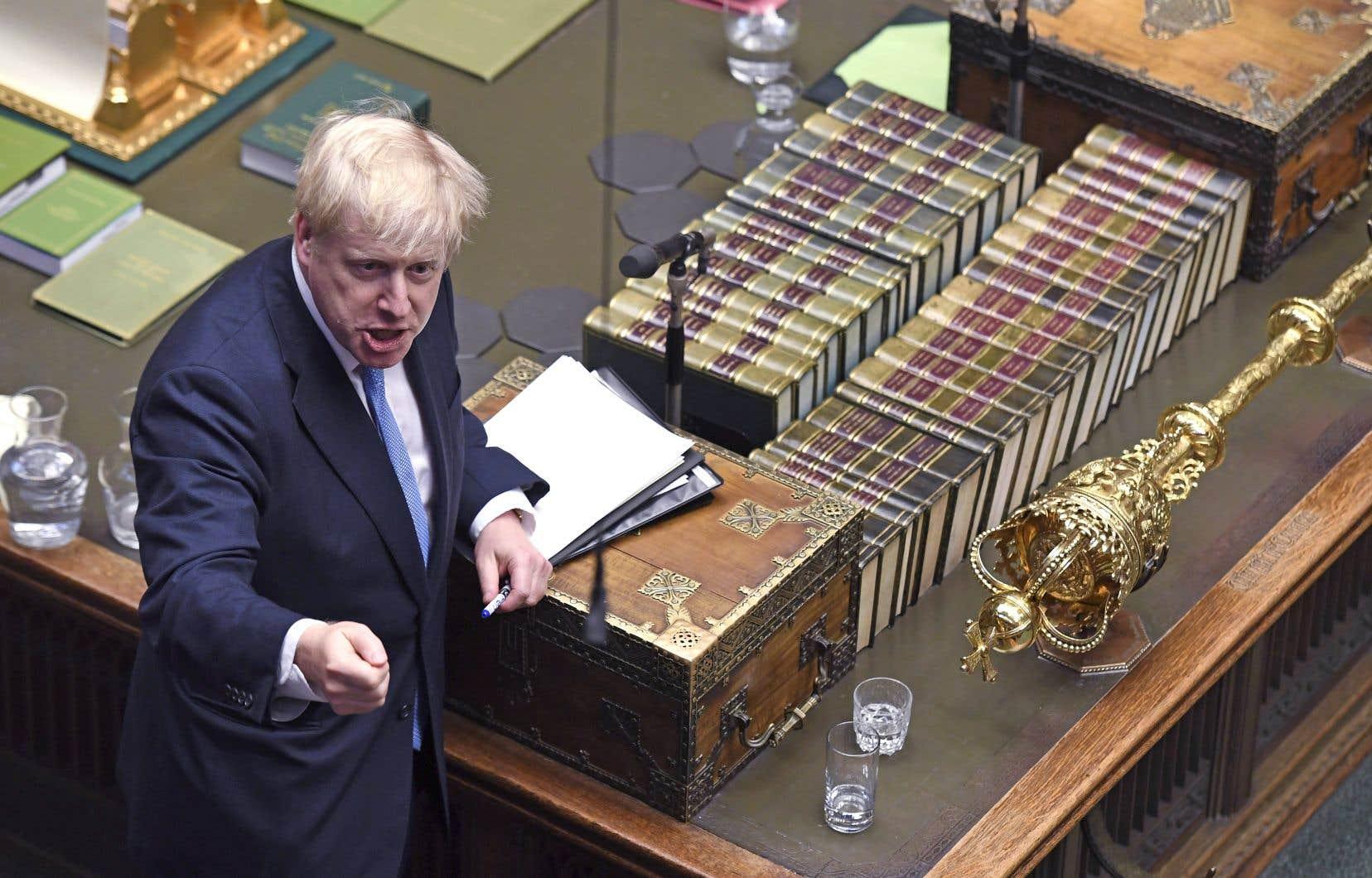 Boris Johnson a jugé jeudi «inacceptable» l'accord de retrait négocié par Theresa May, à qui il a succédé, et a demandé à l'Union européenne de rouvrir les négociations.