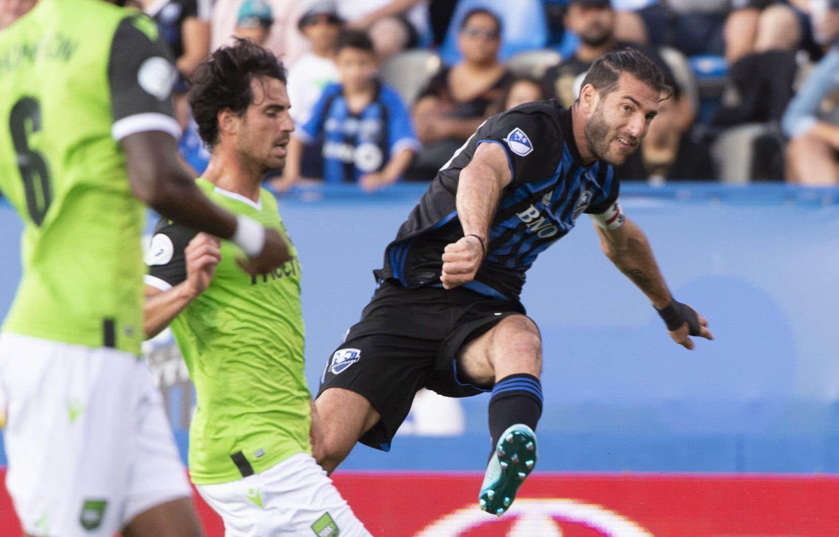 IgnacioPiatti est revenu au jeu mercredi soir et il a aidé la troupe montréalaise à arracher une victoire de 1-0 contre le York9 FC lors du match retour des quarts de finale du Championnat canadien. L'Argentin a inscrit le seul but du match, sur un penalty.