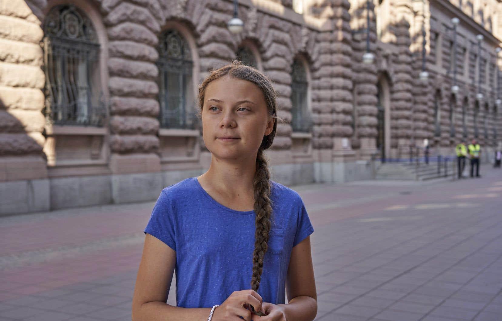 Greta Thunbergest attendue sur le continent américain dans le cadre d'une série de rencontres sur le thème du climat, un voyage qui doit durer plusieurs mois.
