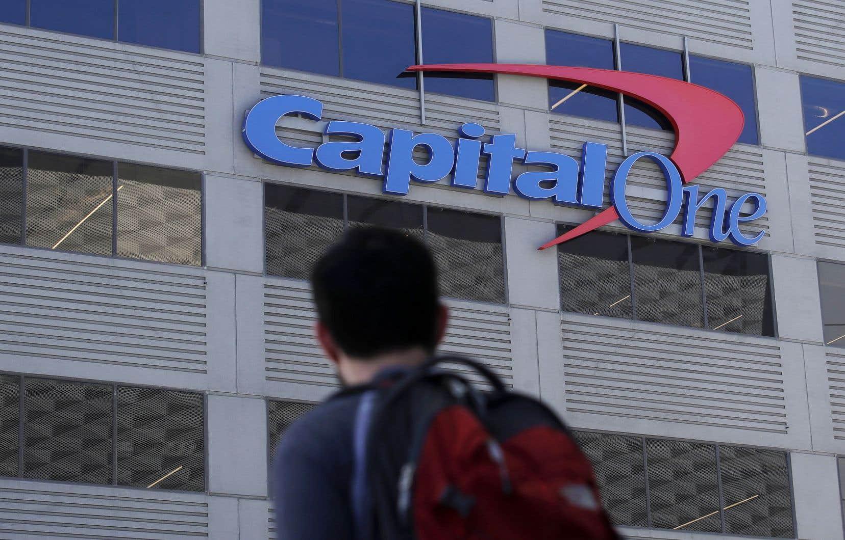 <p>Capital One croit qu'il est peu probable que les informations aient été utilisées à des fins frauduleuses, mais la banque poursuivra son enquête.</p>