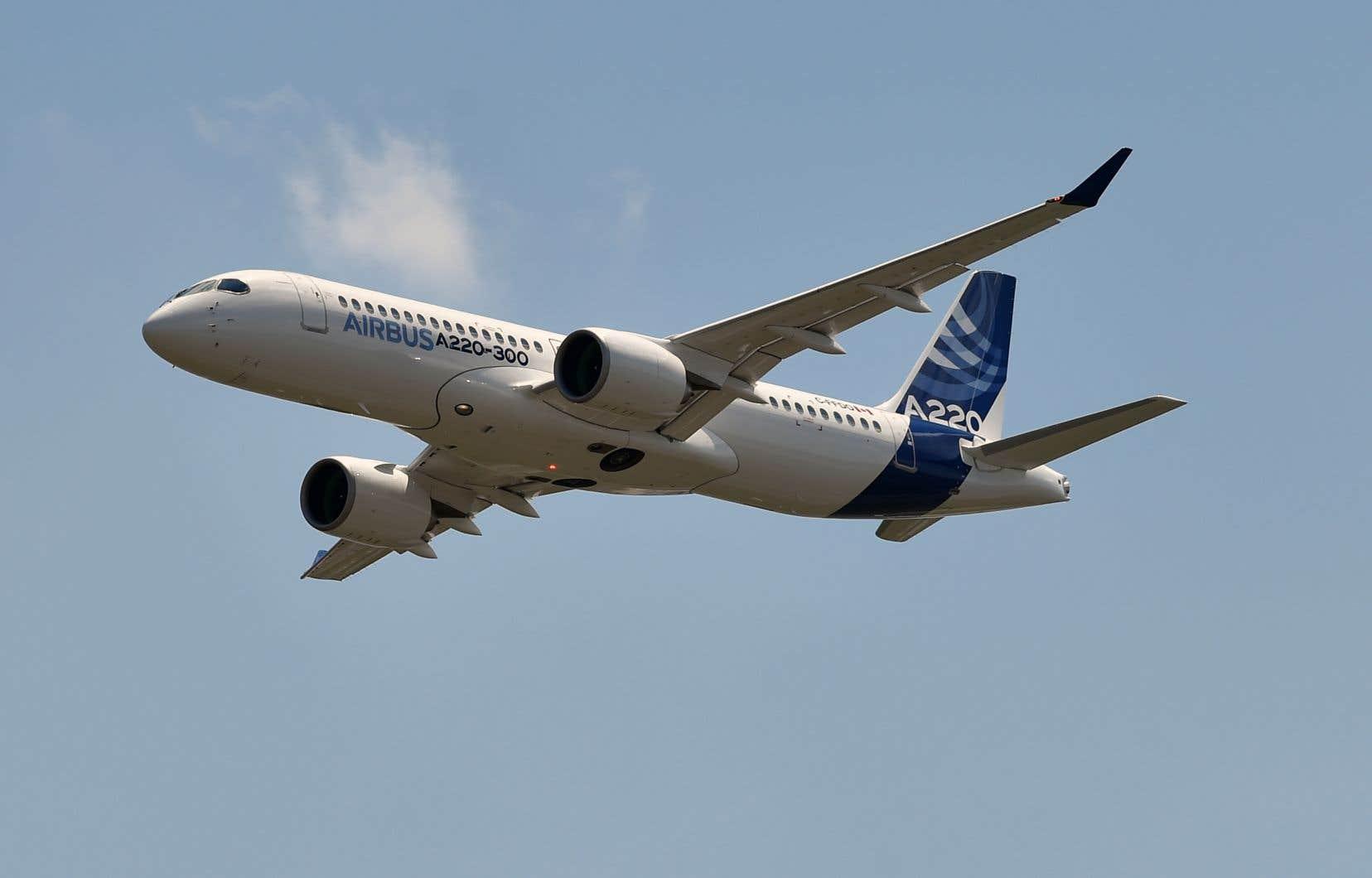La commande de 60 appareils A220-300 est évaluée à près de 5,5 milliards $US.