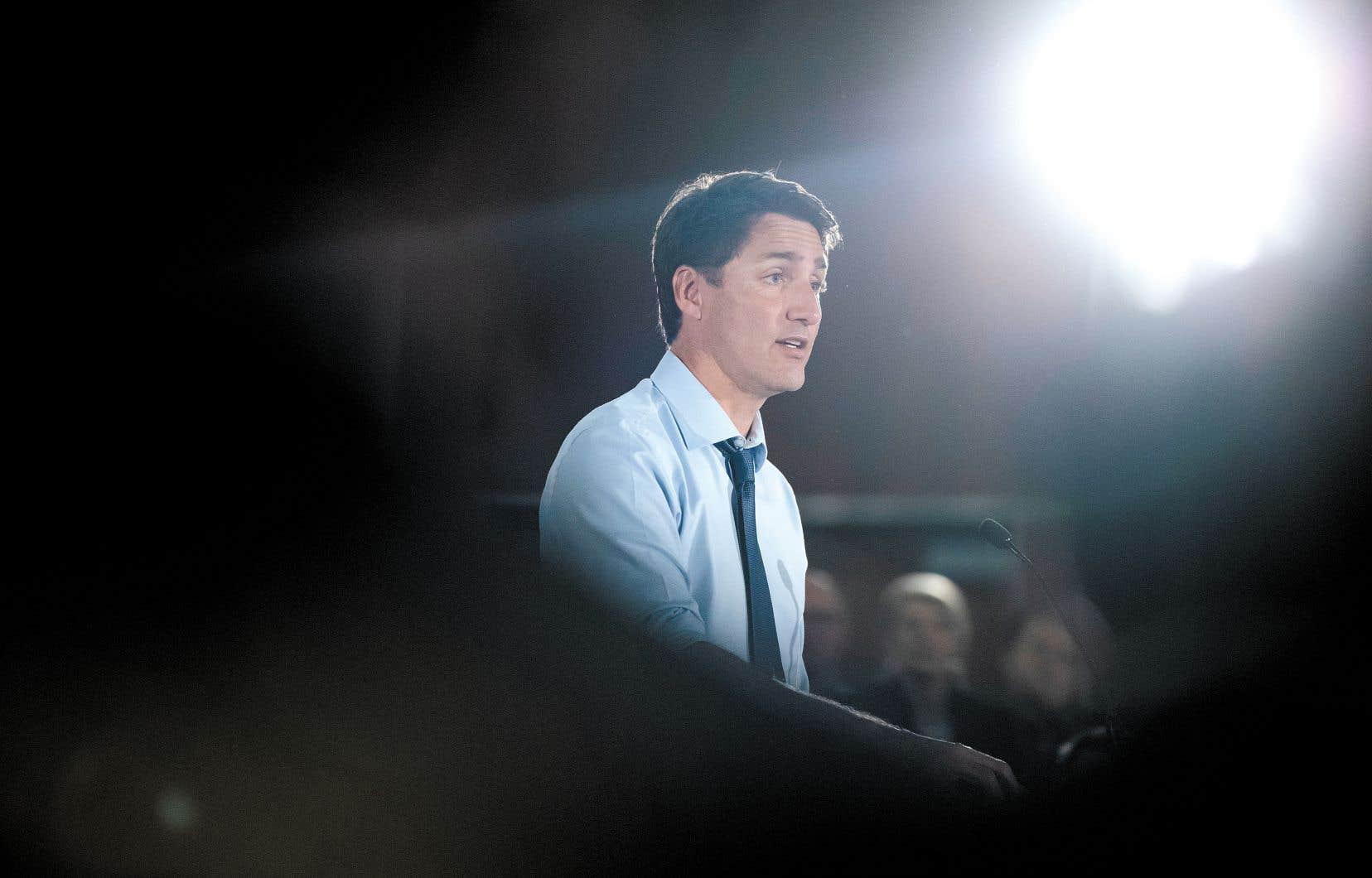 «La classe moyenne n'a pas les moyens de se payer un autre Doug Ford!», a lancé le premier ministre Justin Trudeau.