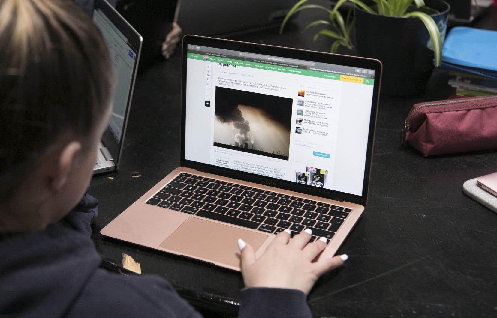 Dévoilement du portrait 2018 des habitudes de «consommation Internet» de la population québécoise.