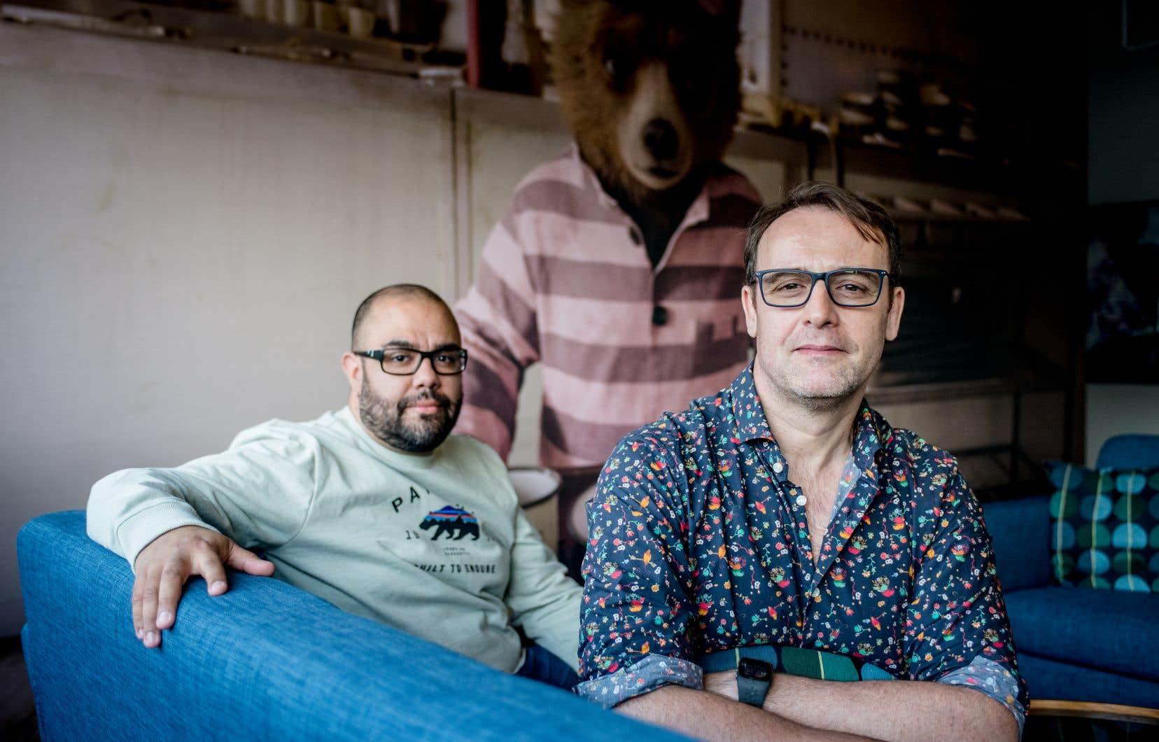 Framestore se spécialise en effets visuels depuis trente ans. Mais l'entreprise n'est établie à Montréal, où travaillent Carlos Monzon et Laurent Laban, que depuis 2013.