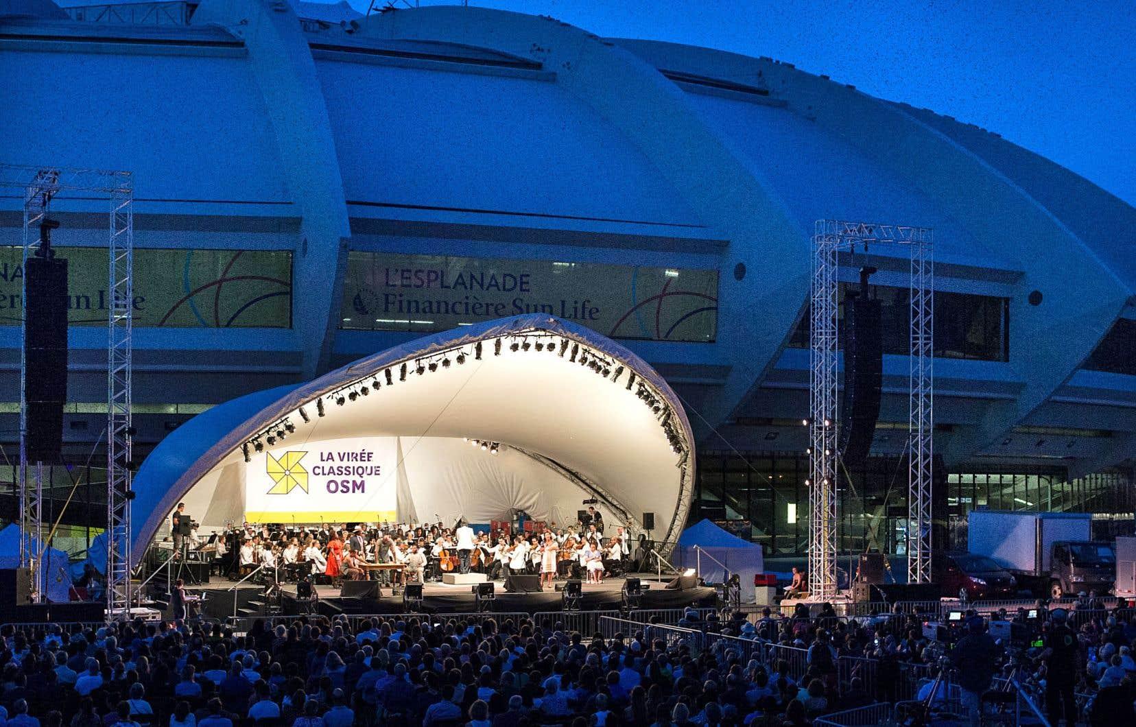 L'Orchestre symphonique de Montréal entame mercredi à l'Esplanade du Parc olympique sa grande semaine estivale.