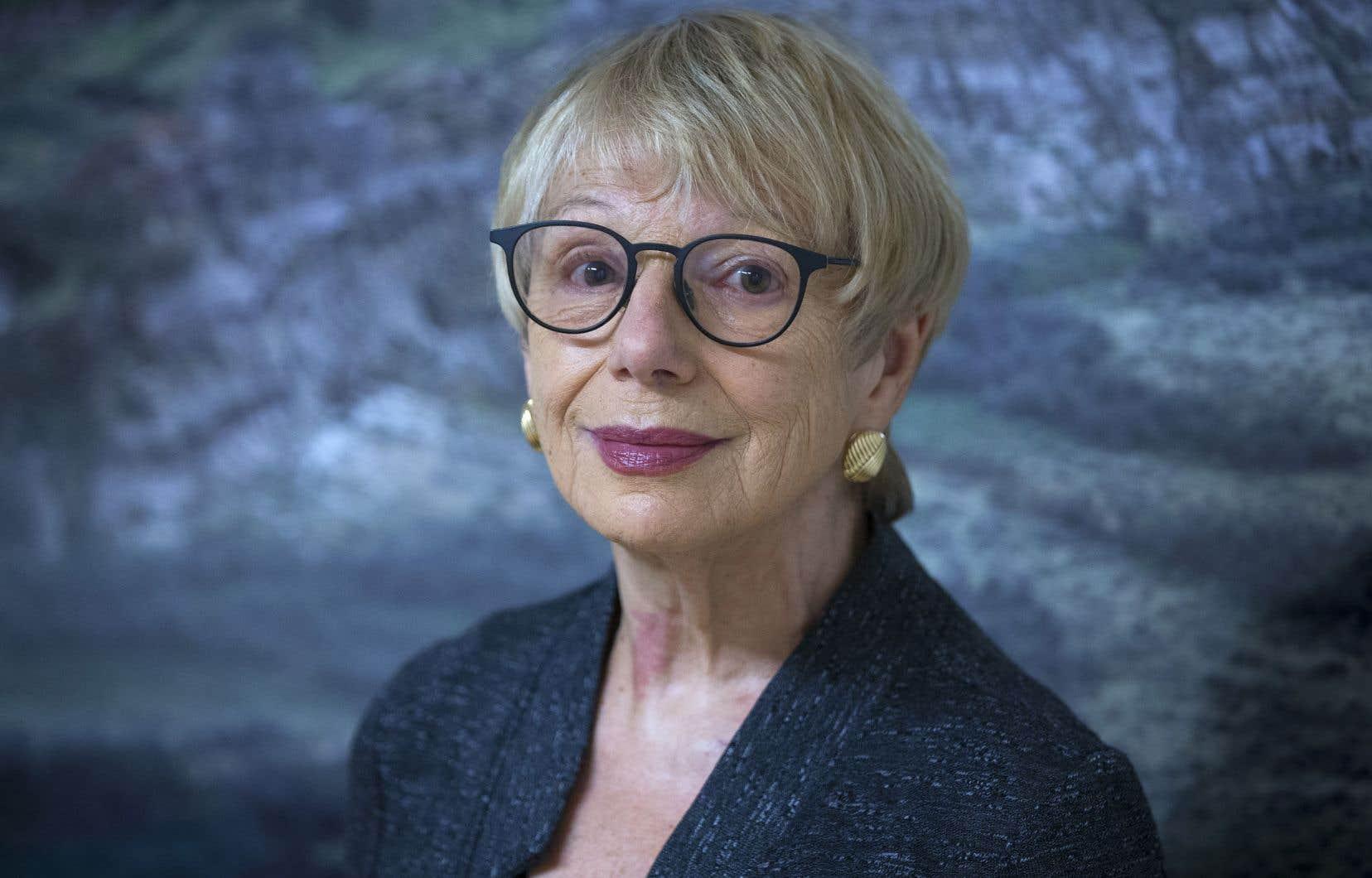La poète, romancière, essayiste, professeure et militante France Théoret