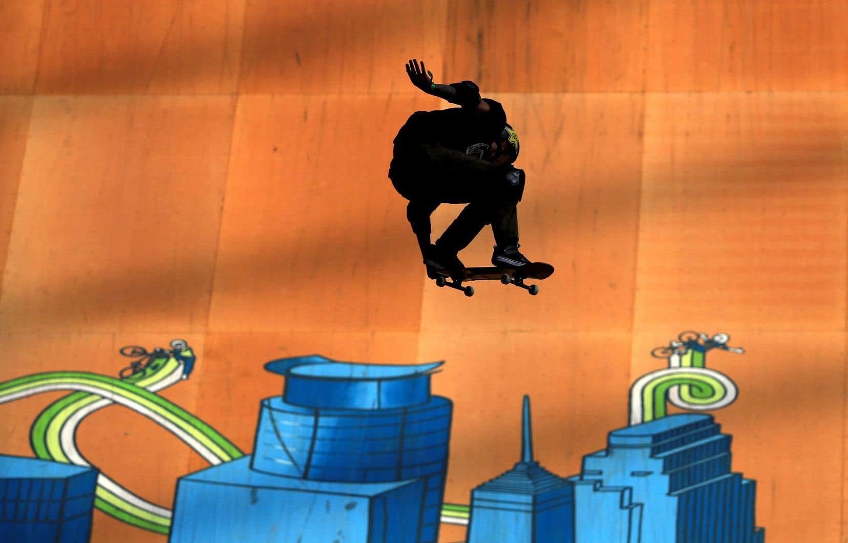 Dans l'enceinte du US Bank Stadium à Minneapolis, les planchistes ne se sont pas privés d'envolées spectaculaires et d'acrobaties d'un haut niveau de technicité avec une idée en tête: aller aux Jeux.