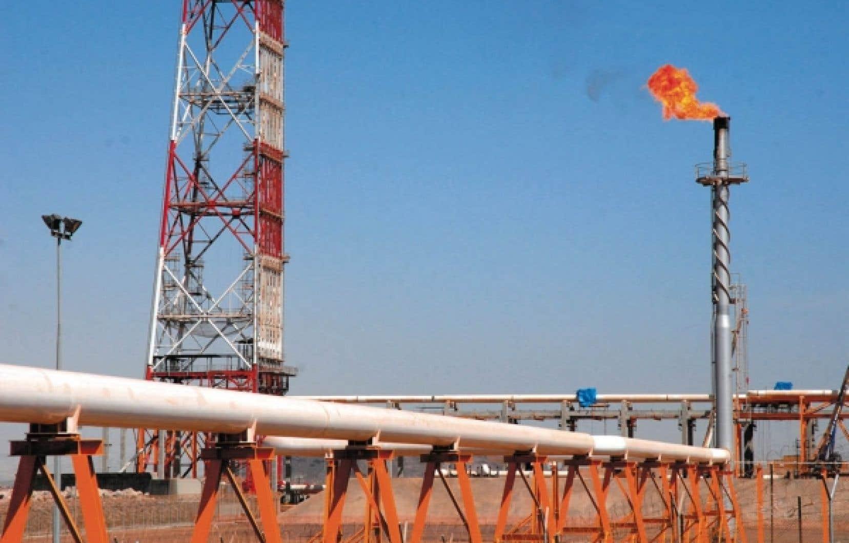 Le marché du gaz de schiste québécois est le deuxième en importance au Canada.<br />