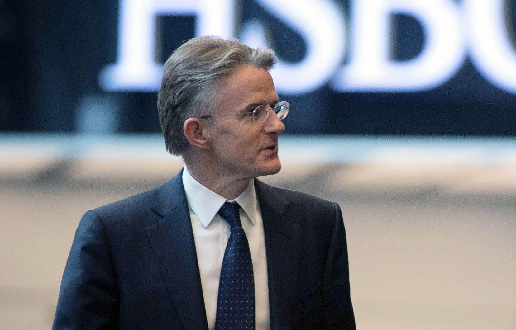 Le directeur général de HSBC, John Flint