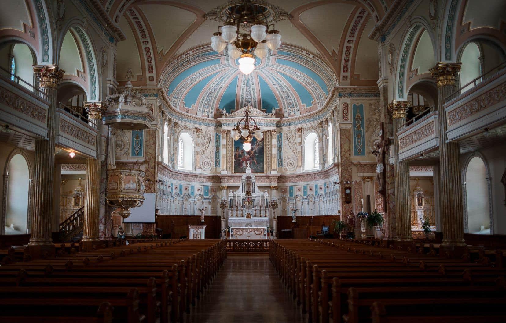 L'église de Saint-Denis, à Saint-Denis-sur-Richelieu