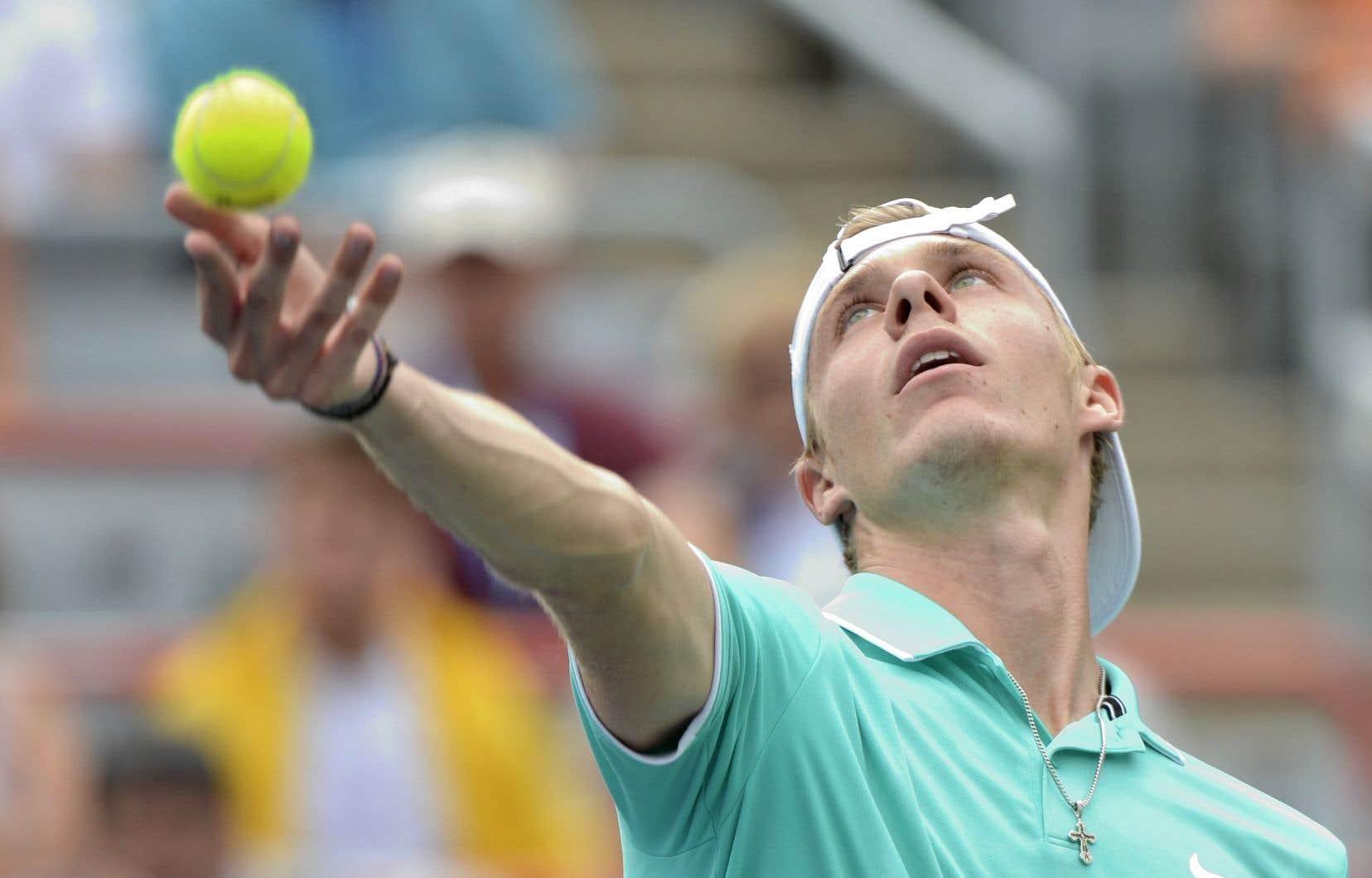 L'Ontarien Denis Shapovalov est 32e au classement mondial.