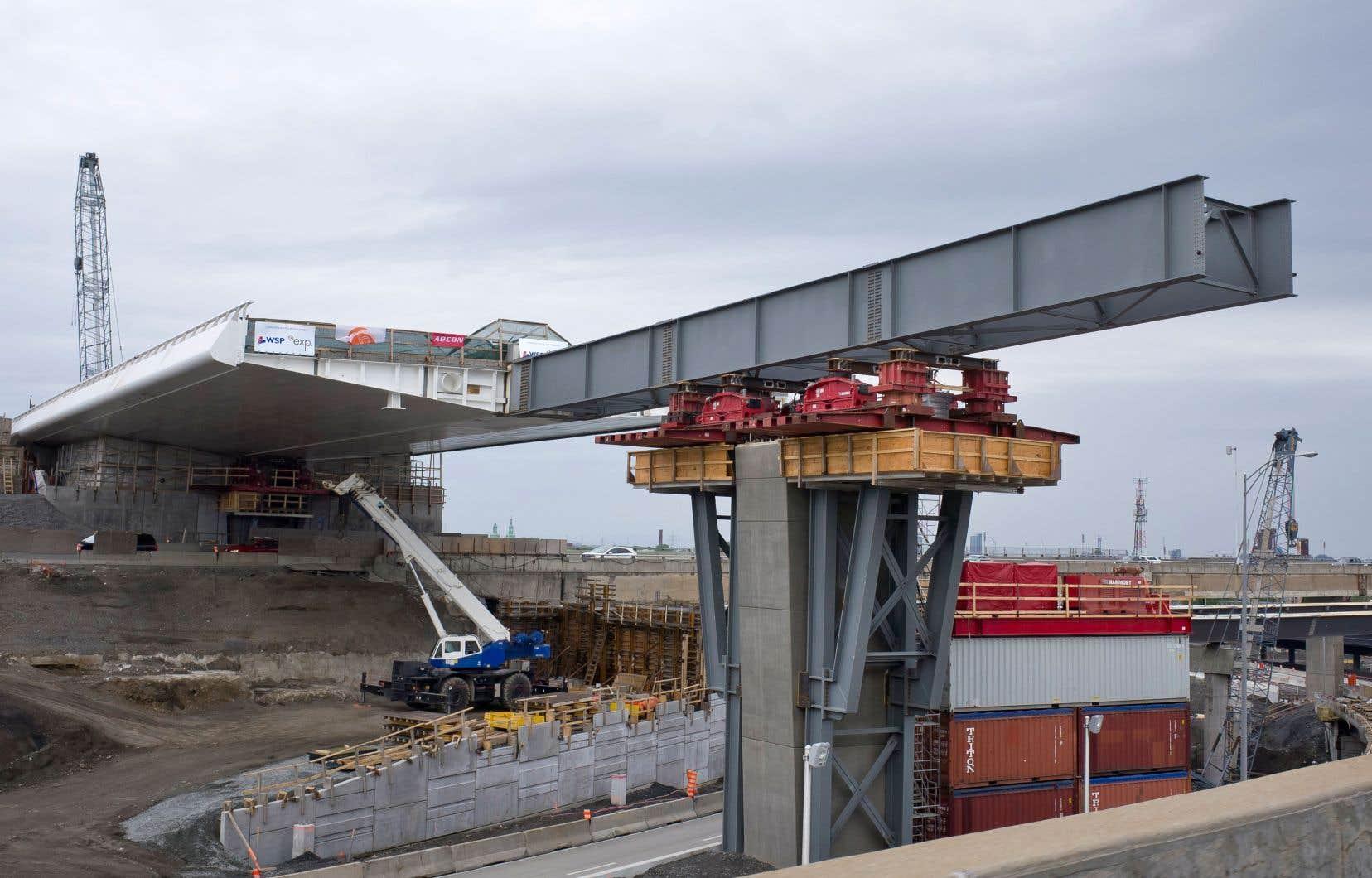 Une nouvelle structure de l'échangeur Turcot