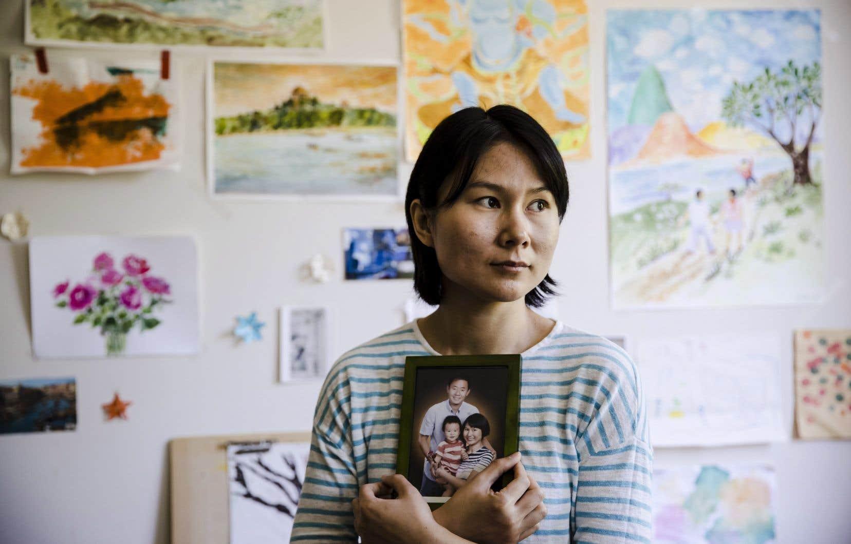 Hua Qu estime que les décisions de l'administration Trump n'ont pas bénéficié au sort de son mari.