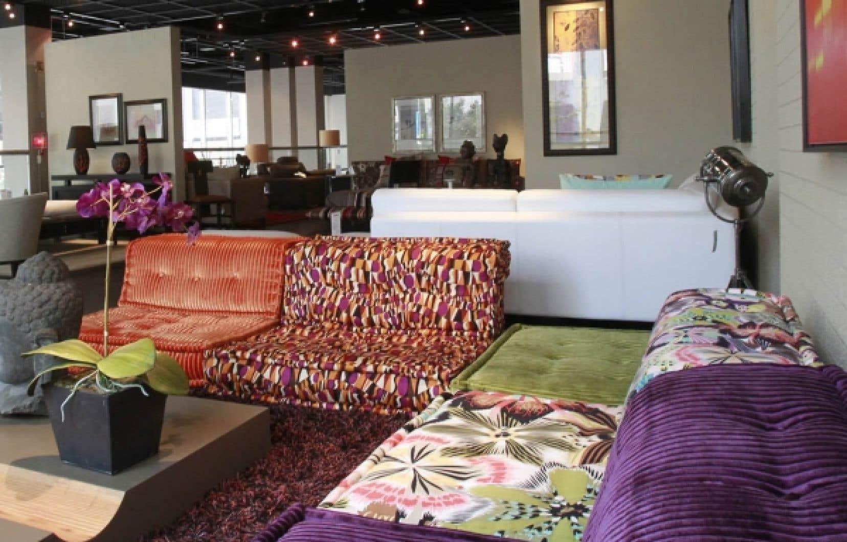 Mobilier haut de gamme - Des boutiques font conjuguer confort et ...