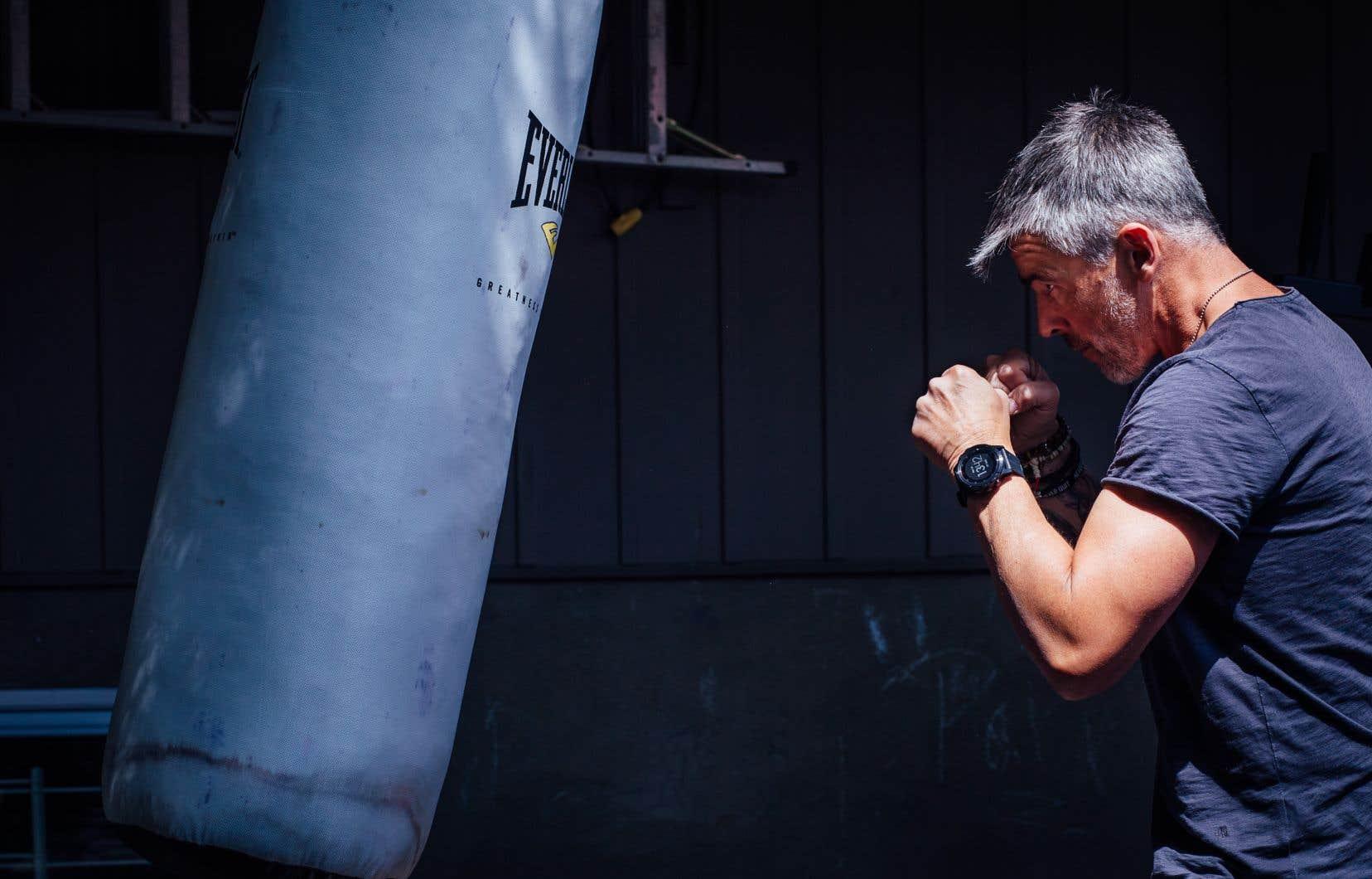 Le comédien Patrice Godin est devenu friand de course à pied après son entraînement intense à la boxe pour la série «Le 7e round».