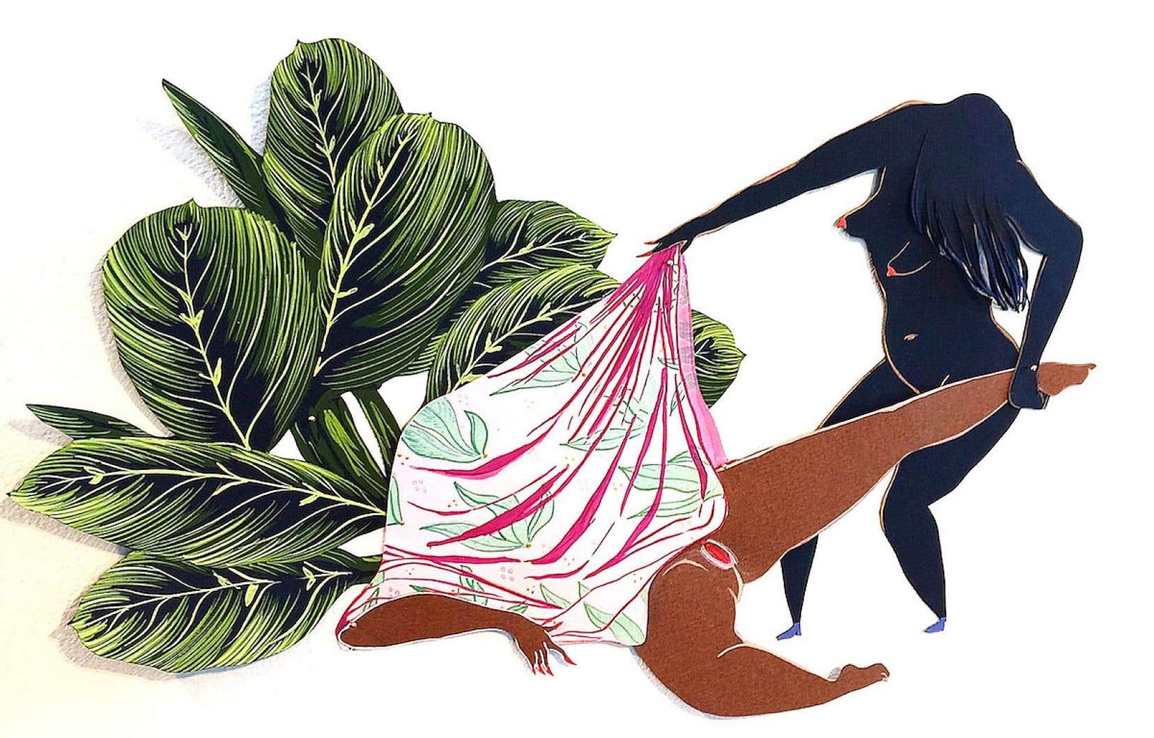 Mia Sandhu, «Summer Solace» (détail), 2017
