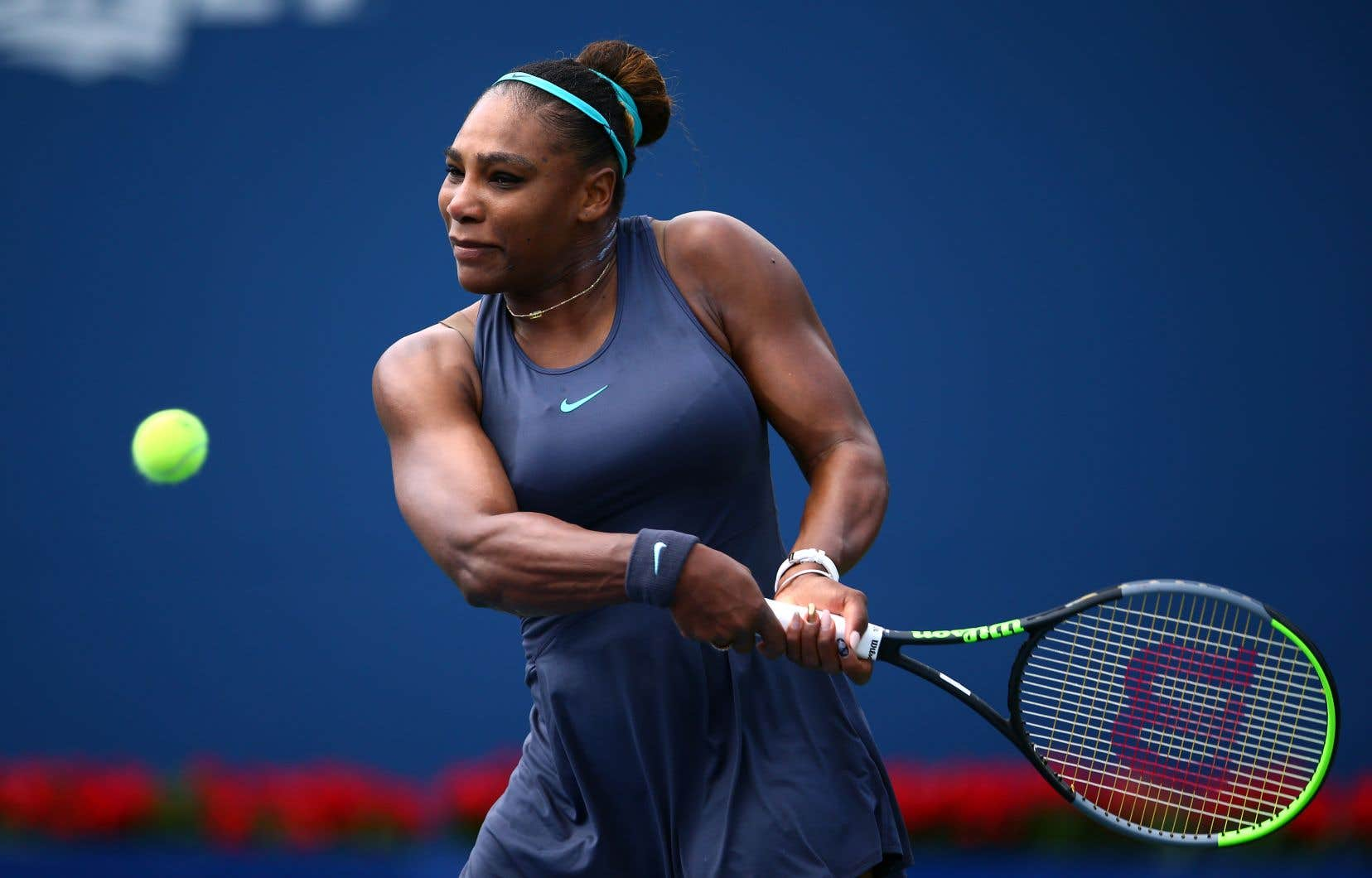 Serena Williams avait dû déclarer forfait lors de la finale de la Coupe Rogers, contre Bianca Andreescu.
