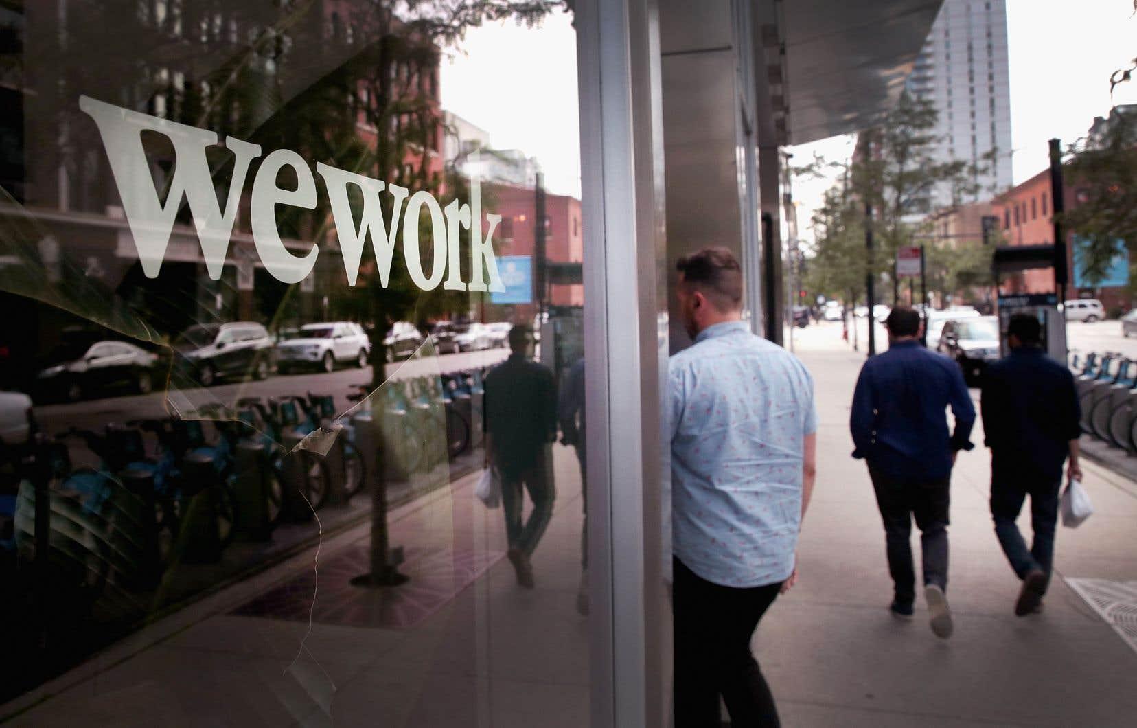 La société WeWork génère ses revenus en louant ses bureaux.