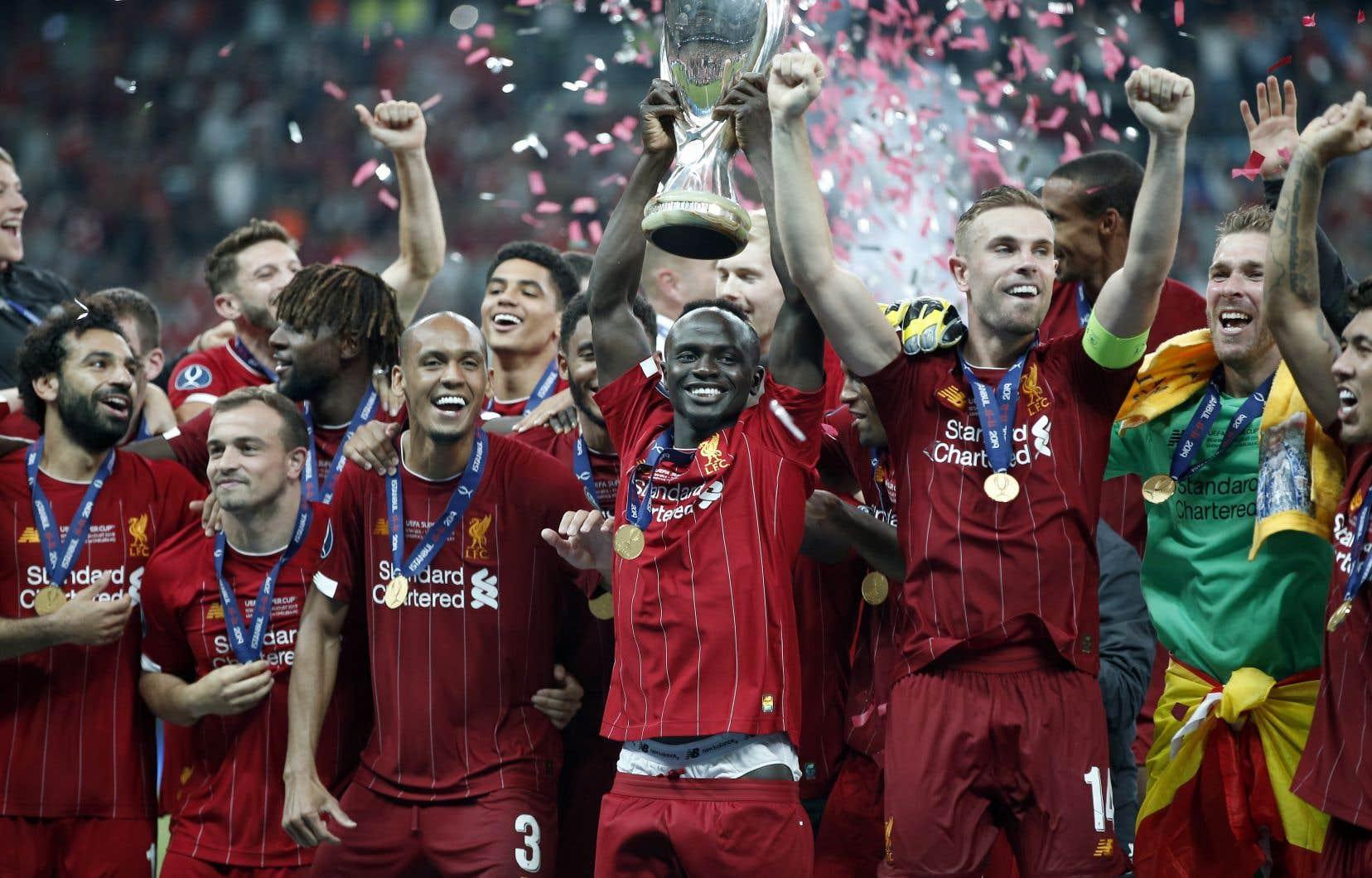 Après une séance de tirs au but finale serrée, Liverpool a remporté la Supercoupe d'Europe.